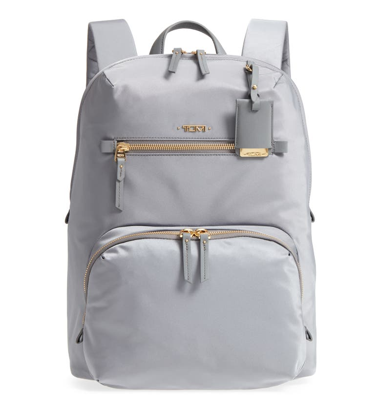 Voyager Halle Nylon Backpack, Main, color, Grey