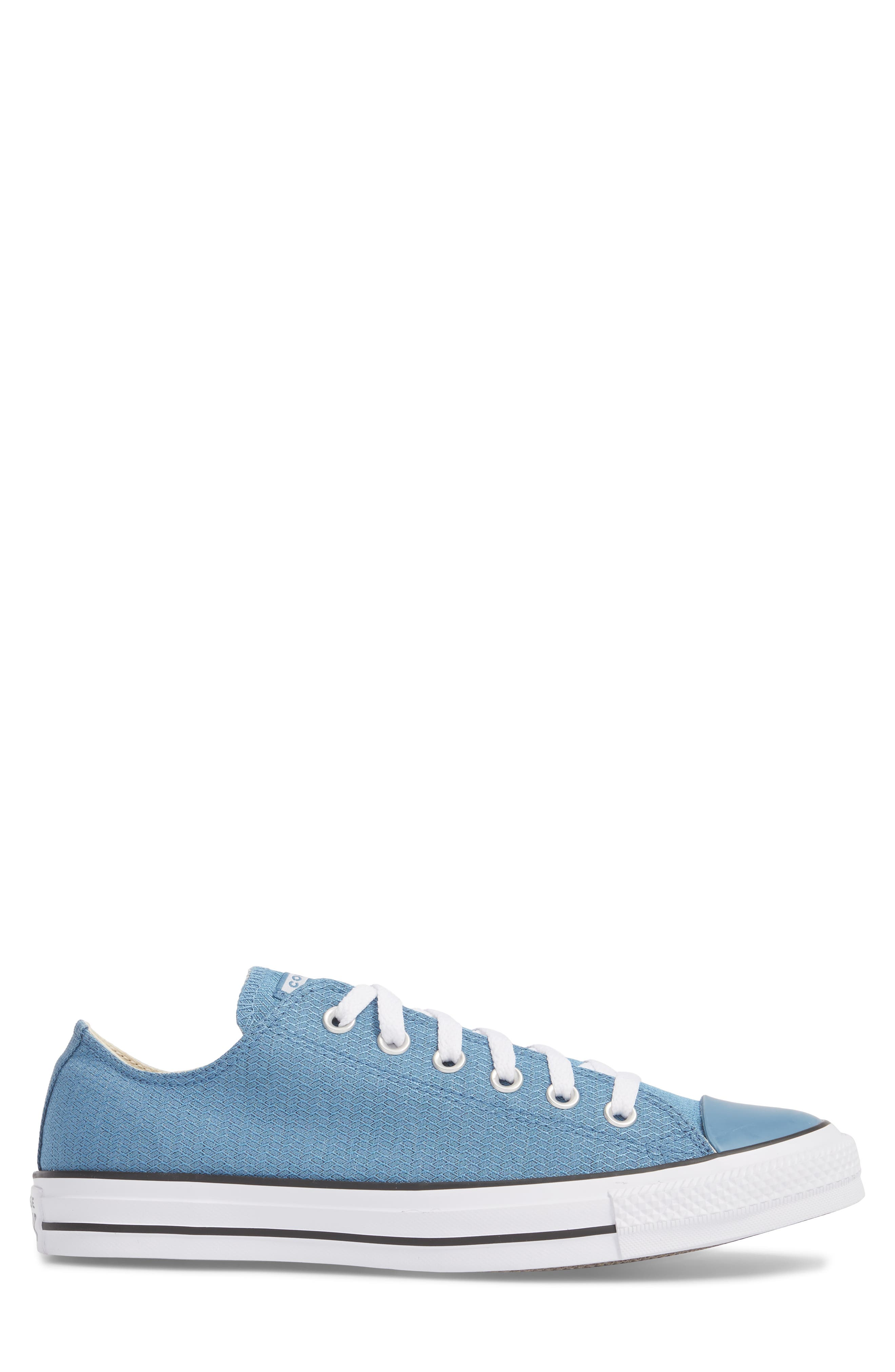 All Star<sup>®</sup> Ripstop Low Top Sneaker,                             Alternate thumbnail 3, color,                             Aegean Storm