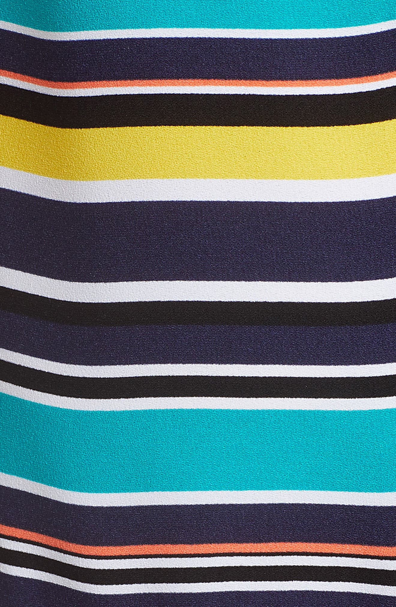 Alternate Image 5  - Halogen® Ruffle Hem Shift Dress (Regular & Petite)