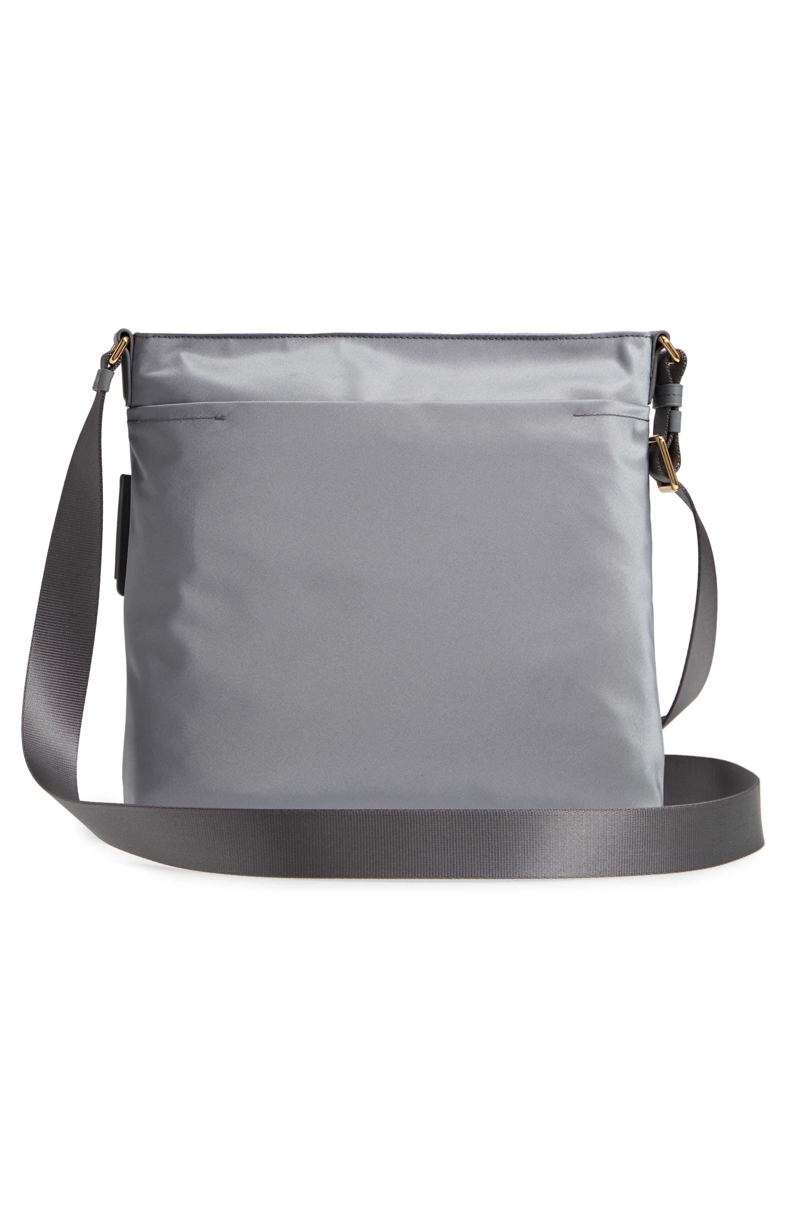 Voyager - Capri Nylon Crossbody Bag,                             Alternate thumbnail 3, color,                             Grey