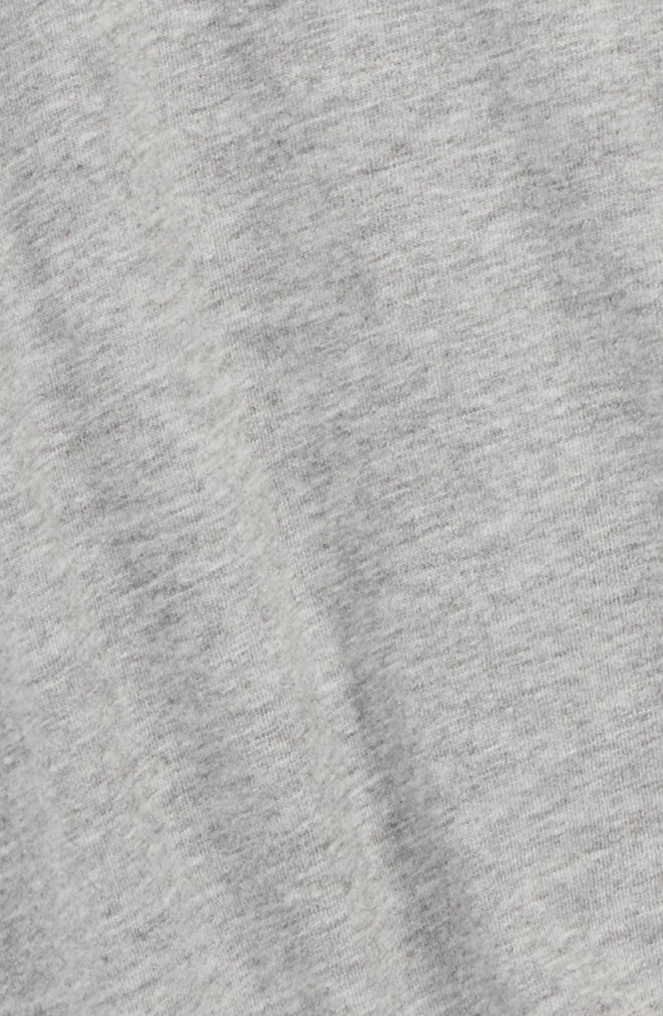 Knit Shorts,                             Alternate thumbnail 3, color,                             Heather Grey