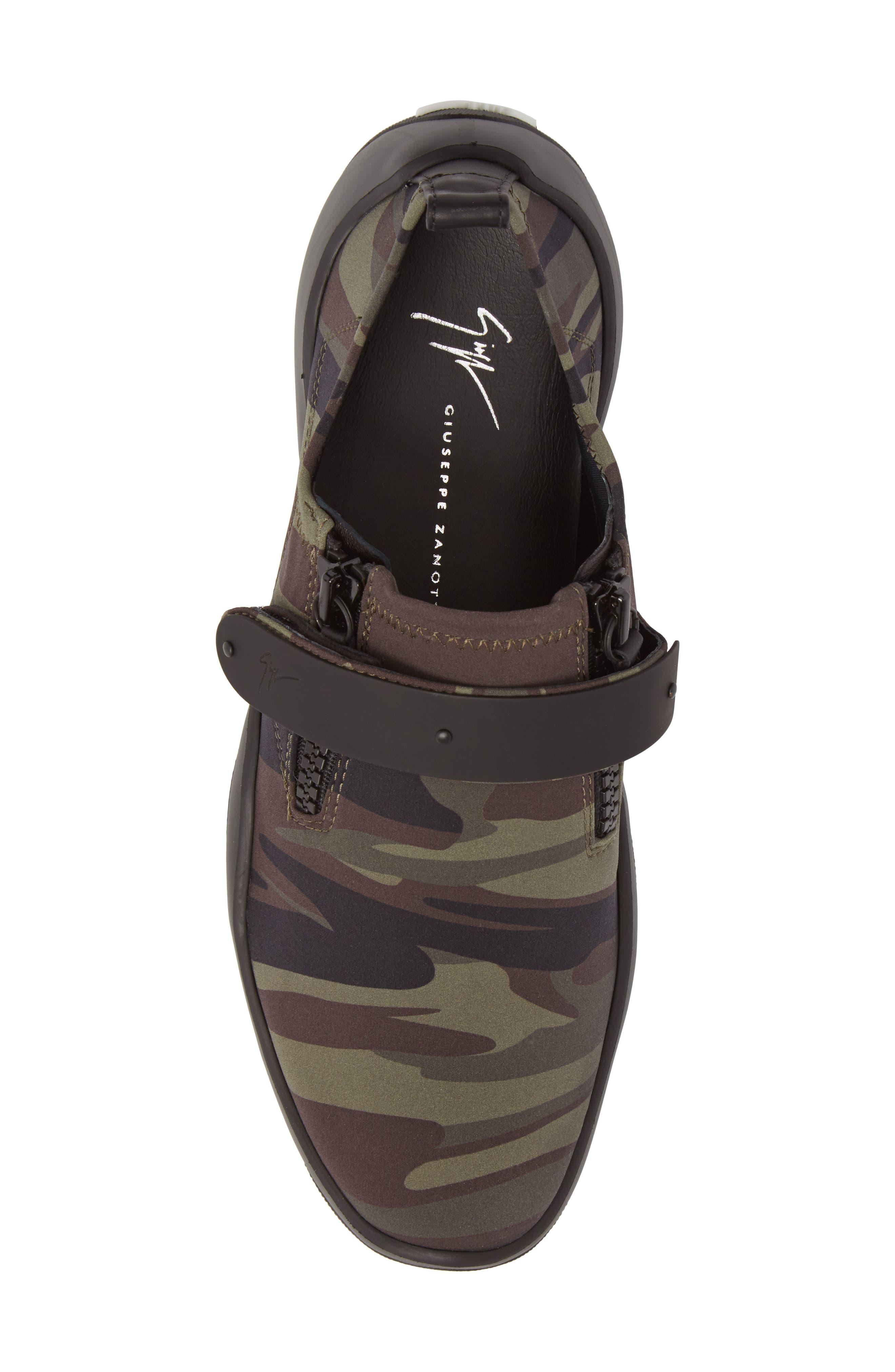Scuba Strap Sneaker,                             Alternate thumbnail 5, color,                             Military Neoprene