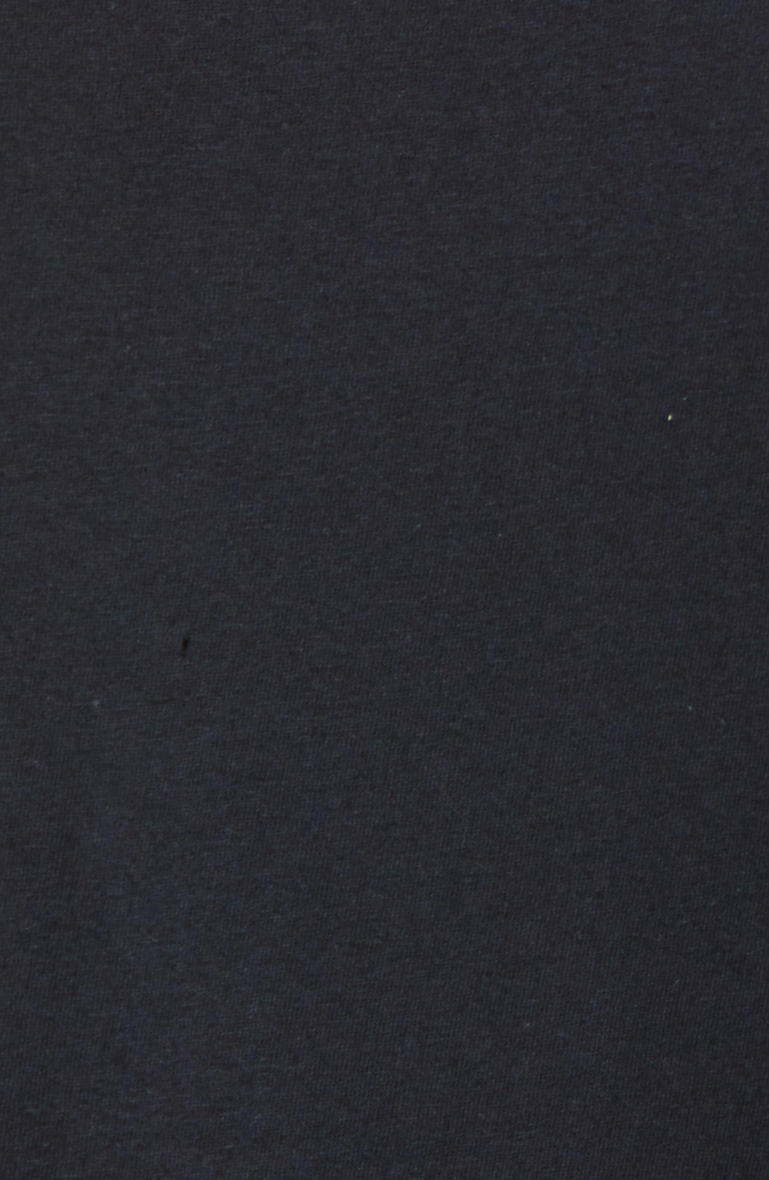 Run-DMC T-Shirt,                             Alternate thumbnail 5, color,                             Black Tee Run Dmc