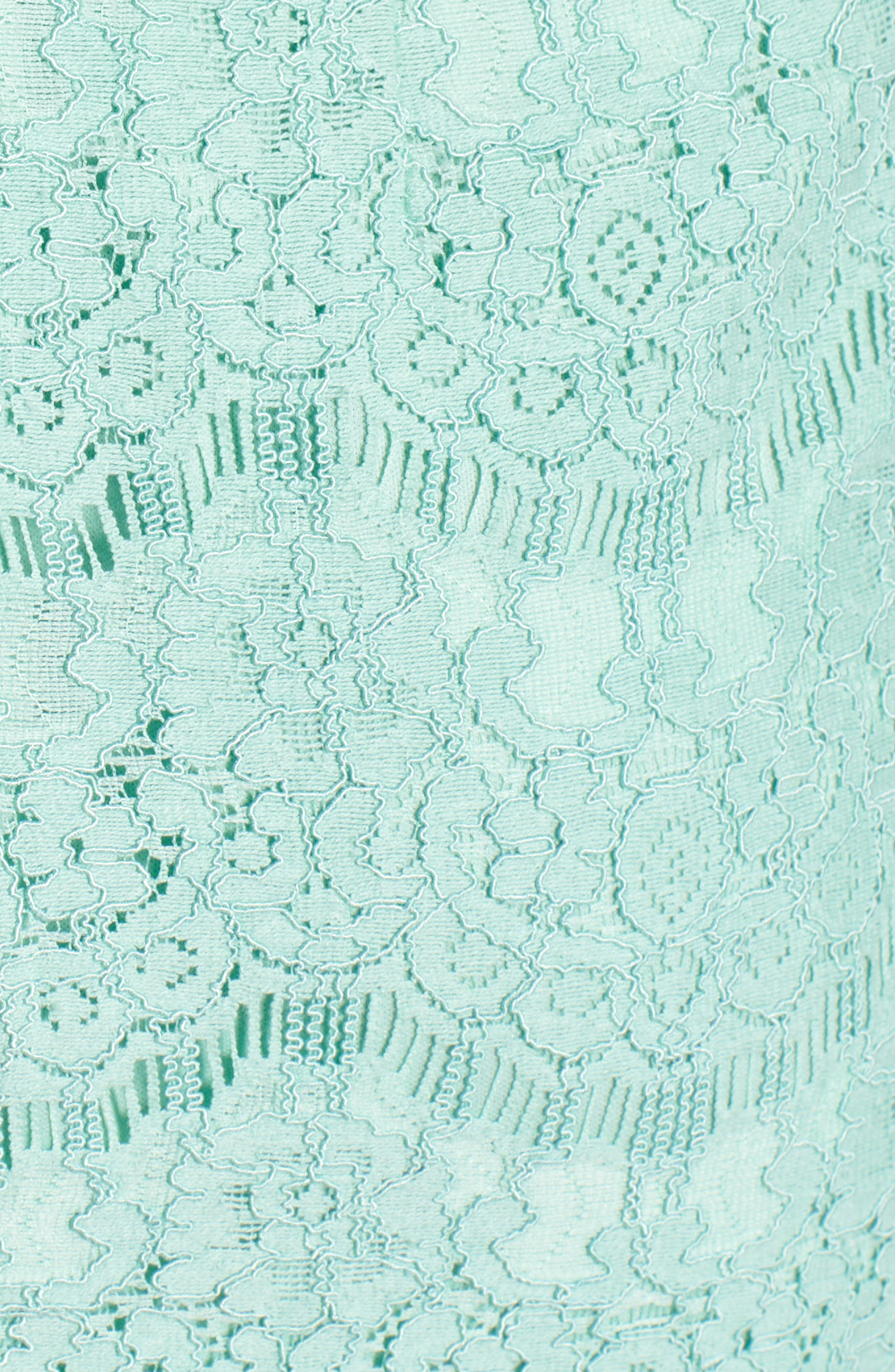 Lace Body-Con Minidress,                             Alternate thumbnail 6, color,                             Lichen