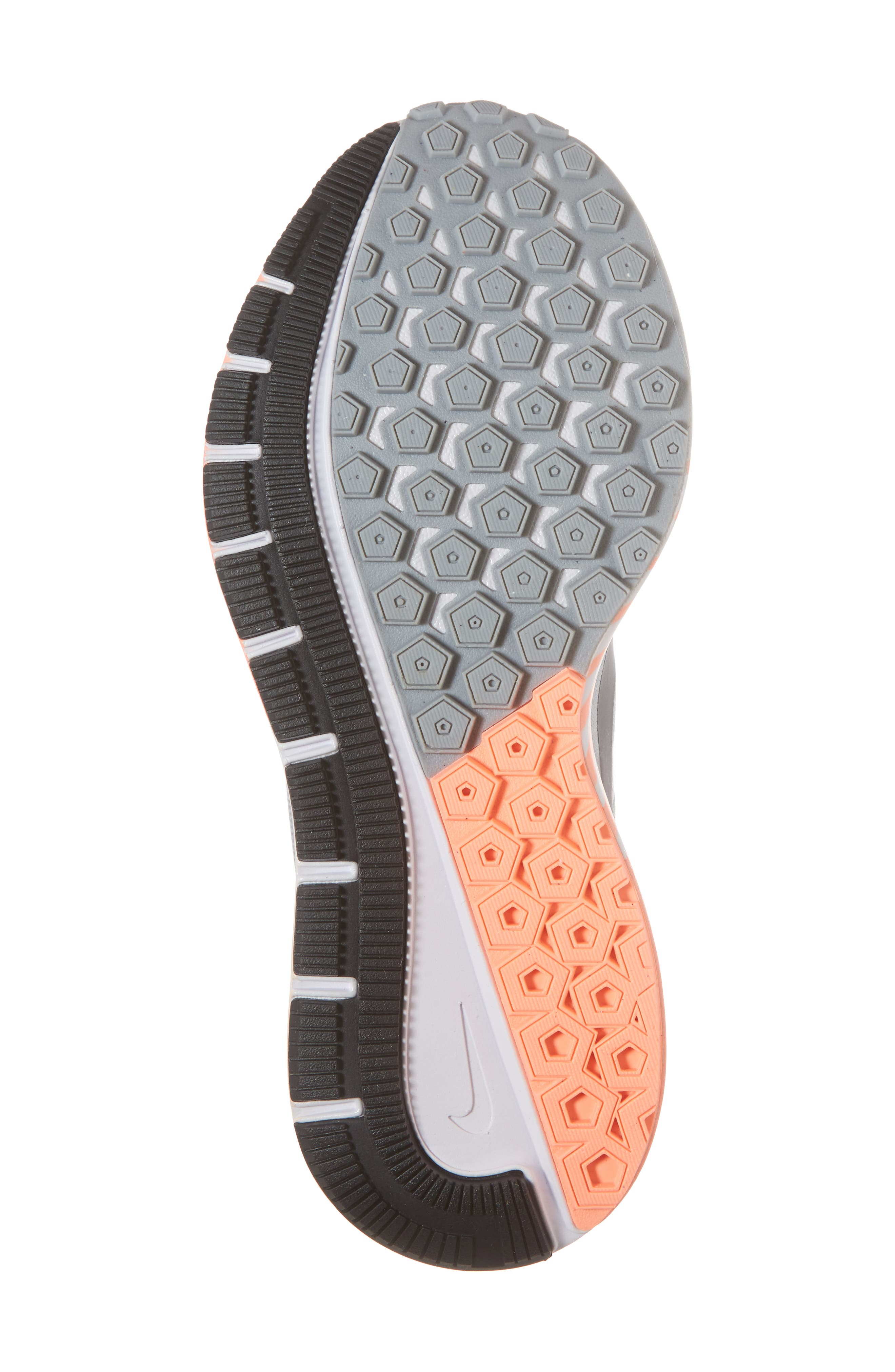 Air Zoom Structure 21 Running Shoe,                             Alternate thumbnail 6, color,                             Wolf Grey/ Dark Grey
