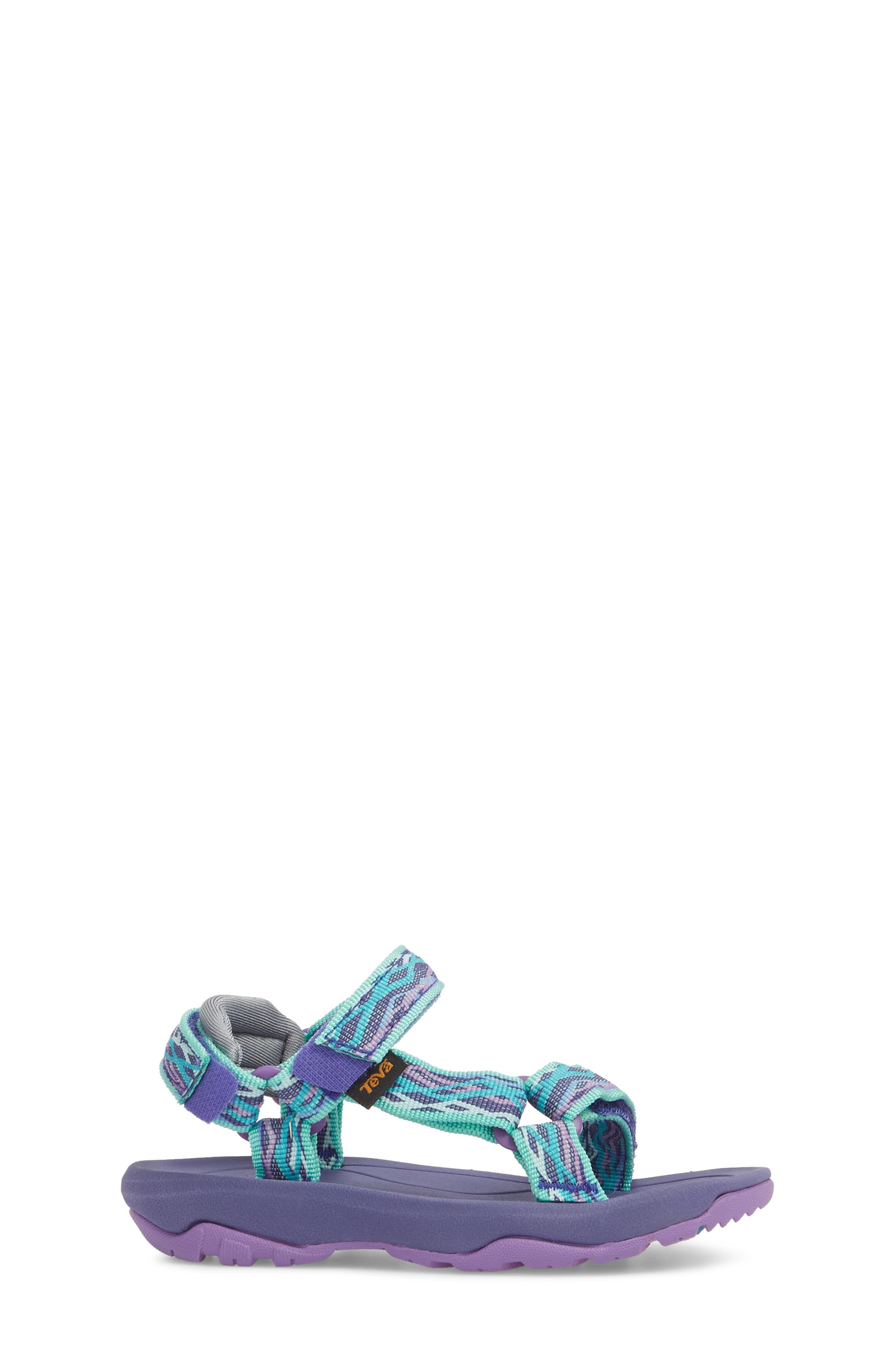 Hurricane XLT 2 Sandal,                             Alternate thumbnail 3, color,                             Delmar Sea Glass / Purple