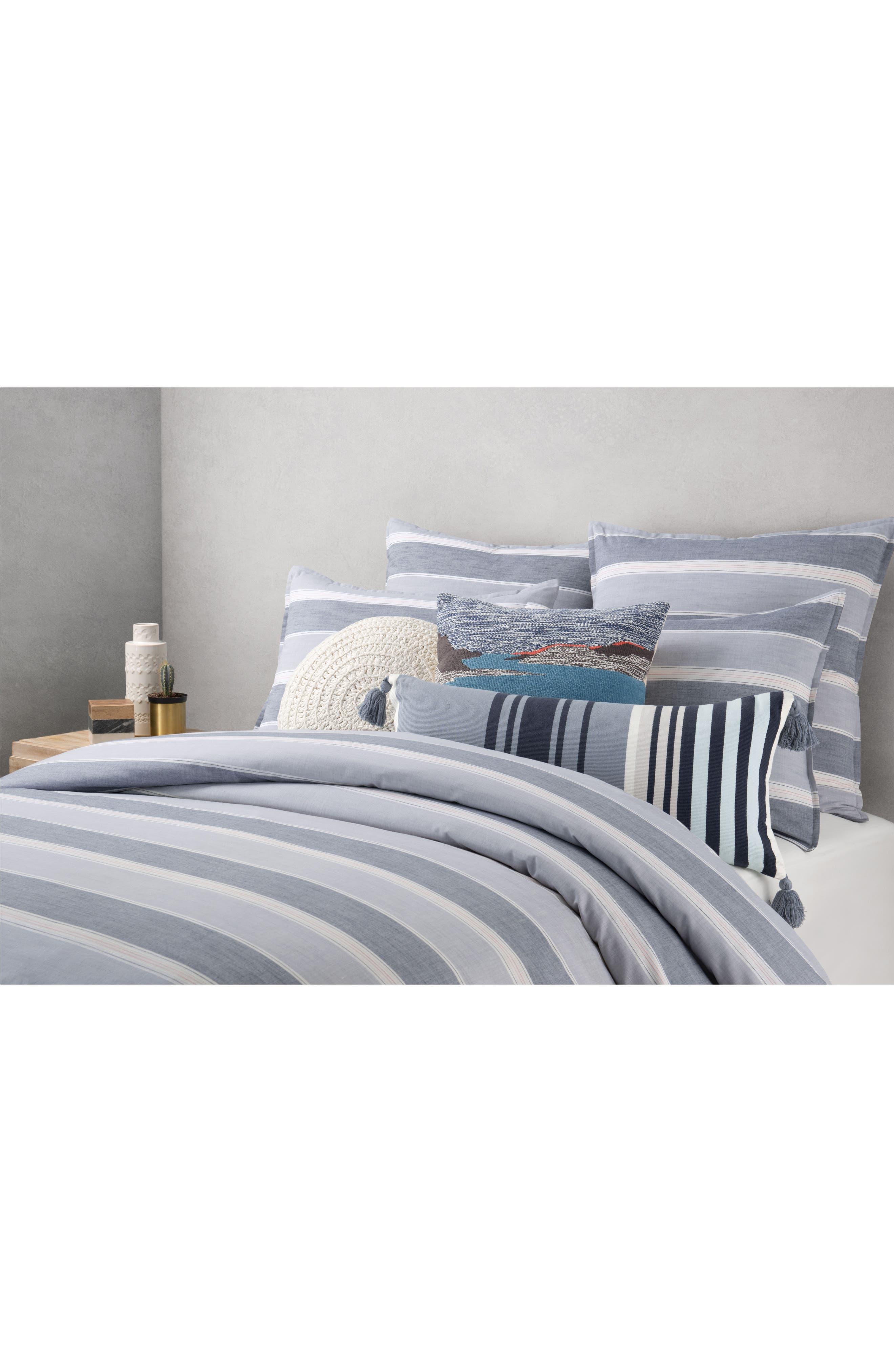 Daydream Landscape Accent Pillow,                             Alternate thumbnail 2, color,                             Grey Multi