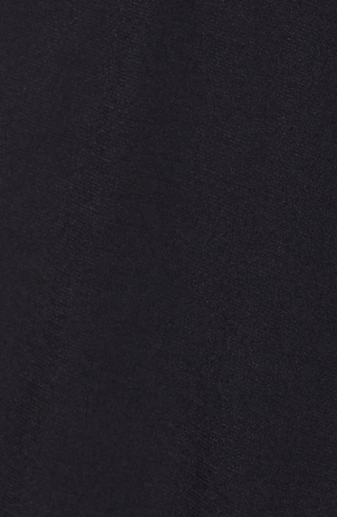 Alternate Image 4  - Eliza J Cap Sleeve Faux Wrap Jersey Dress (Online Only)