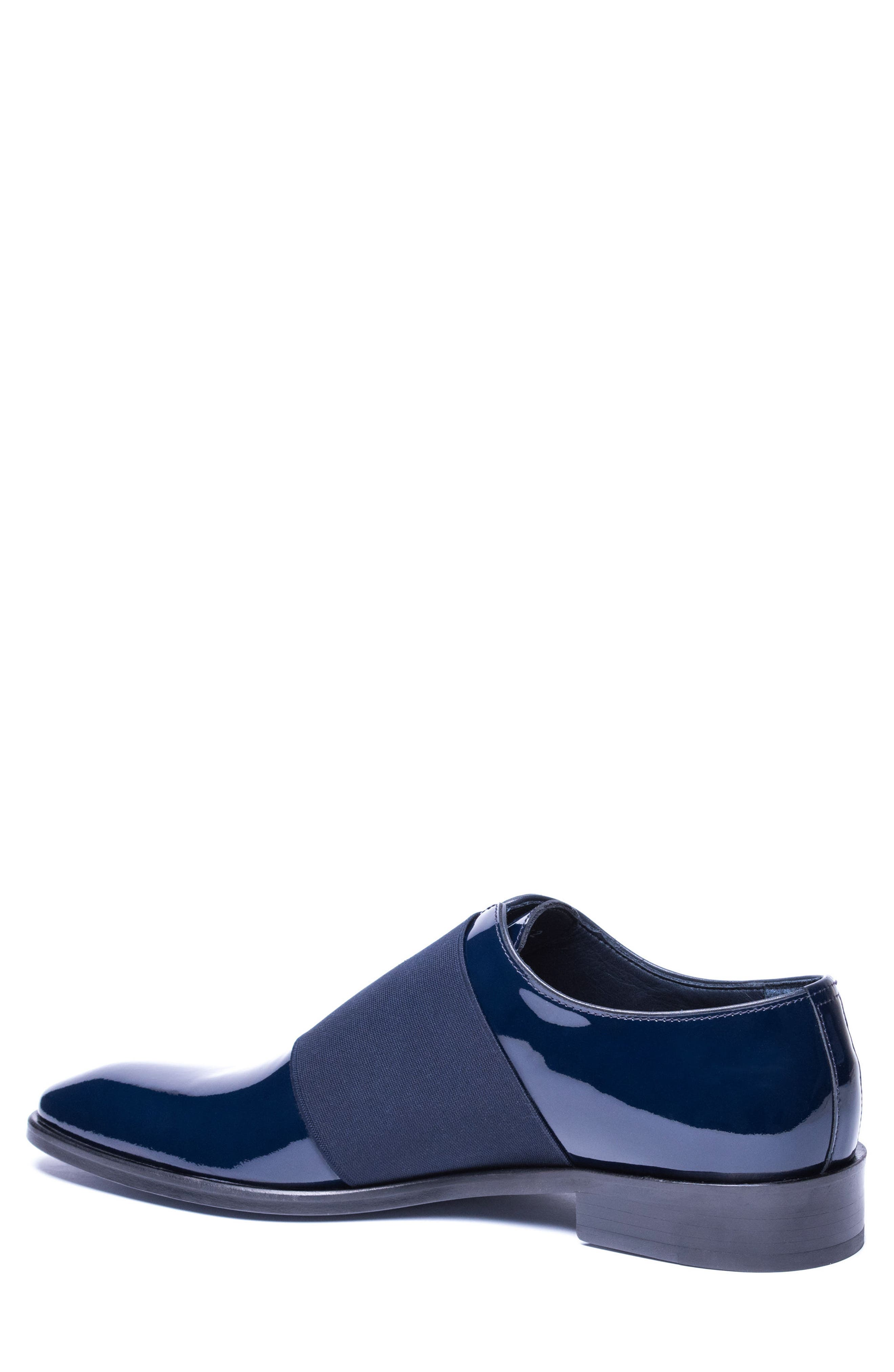 Vincenzo Whole Cut Slip-On,                             Alternate thumbnail 2, color,                             Navy Leather