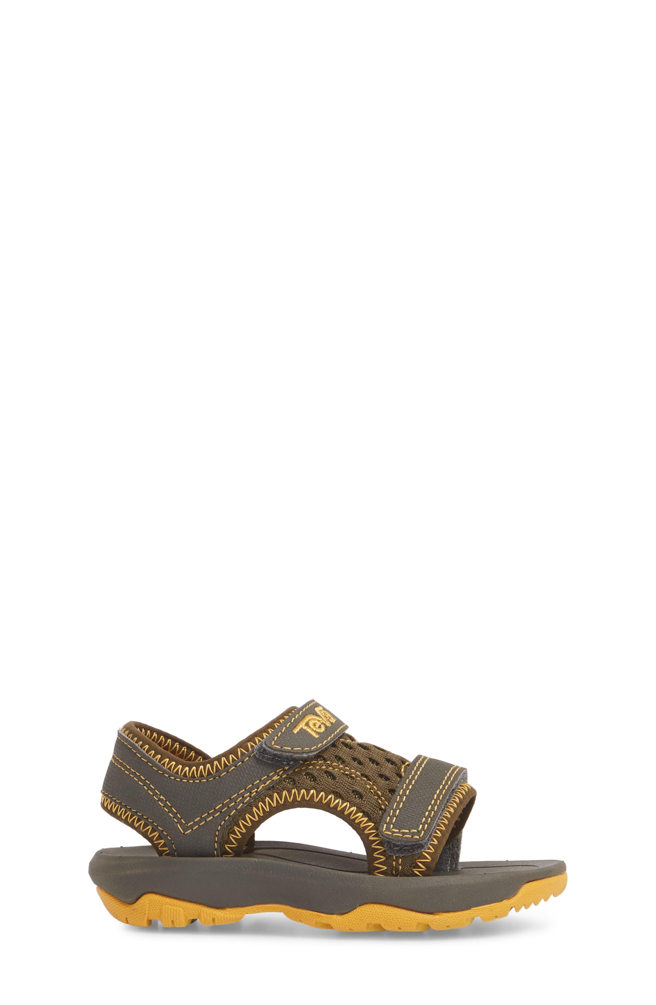Psyclone XLT Sandal,                             Alternate thumbnail 3, color,                             Dark Olive