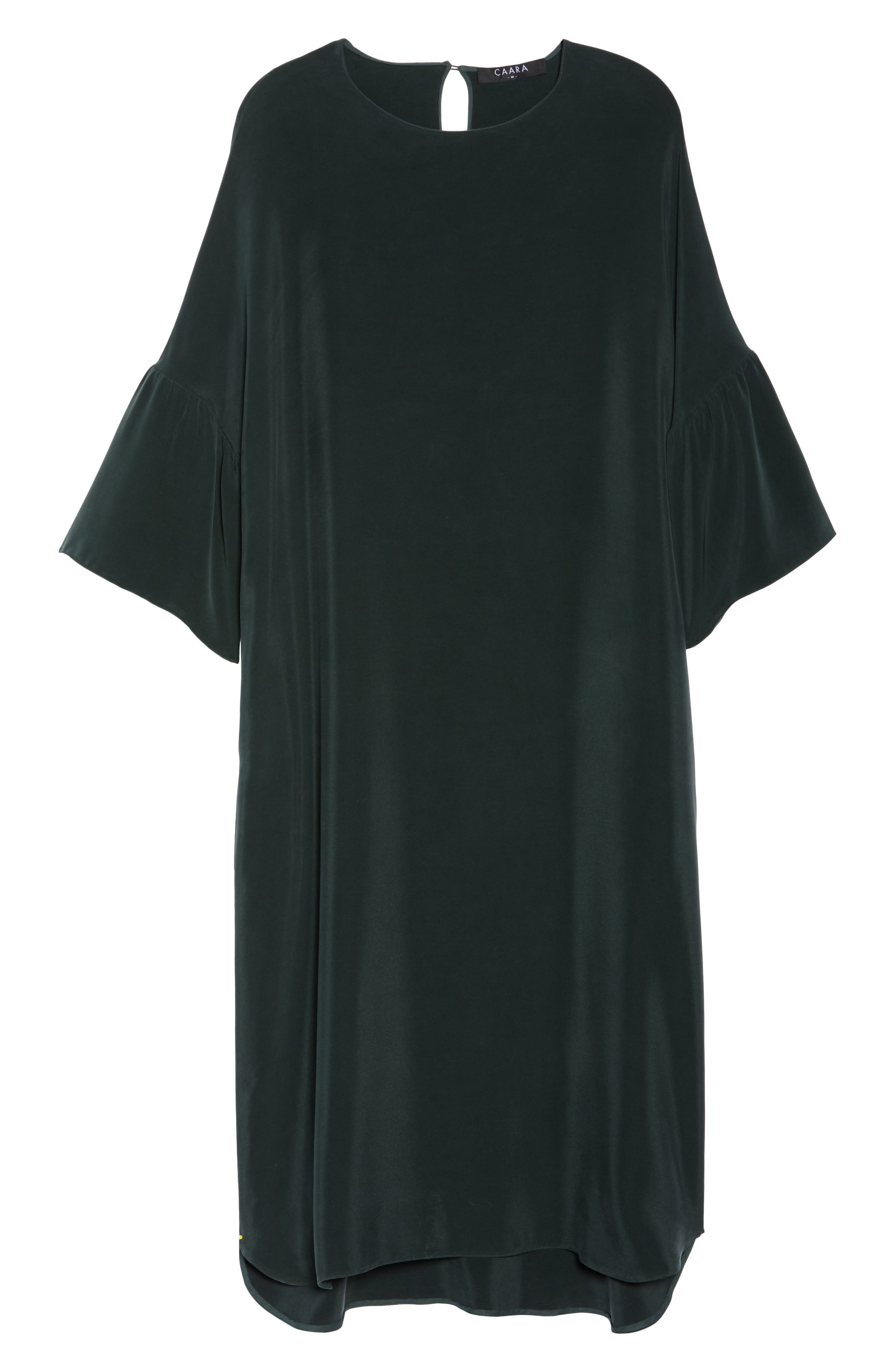Stroll In The Woods Shift Dress,                             Alternate thumbnail 7, color,                             Green