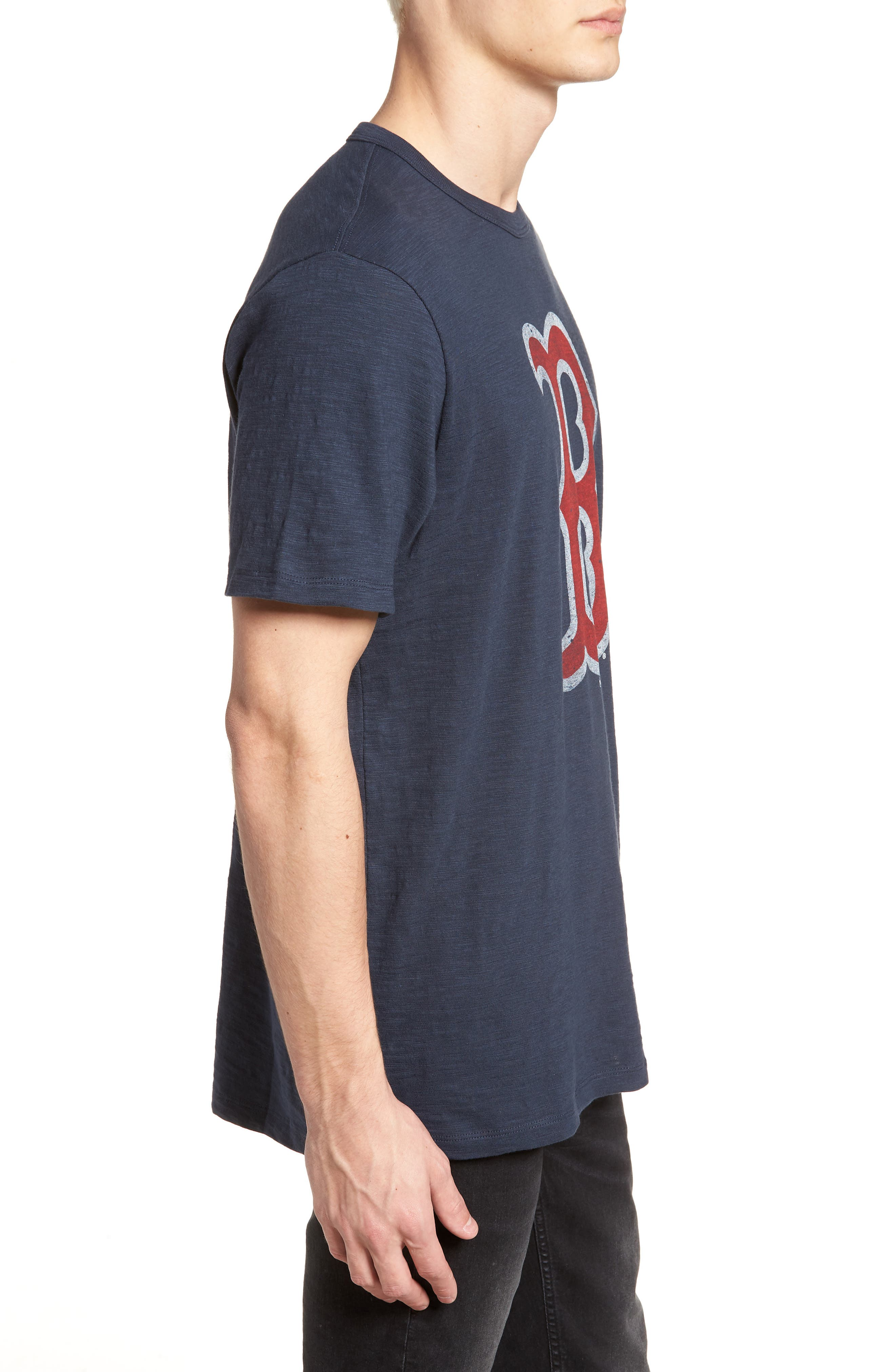 Grit Scrum Boston Red Sox T-Shirt,                             Alternate thumbnail 3, color,                             Midnight