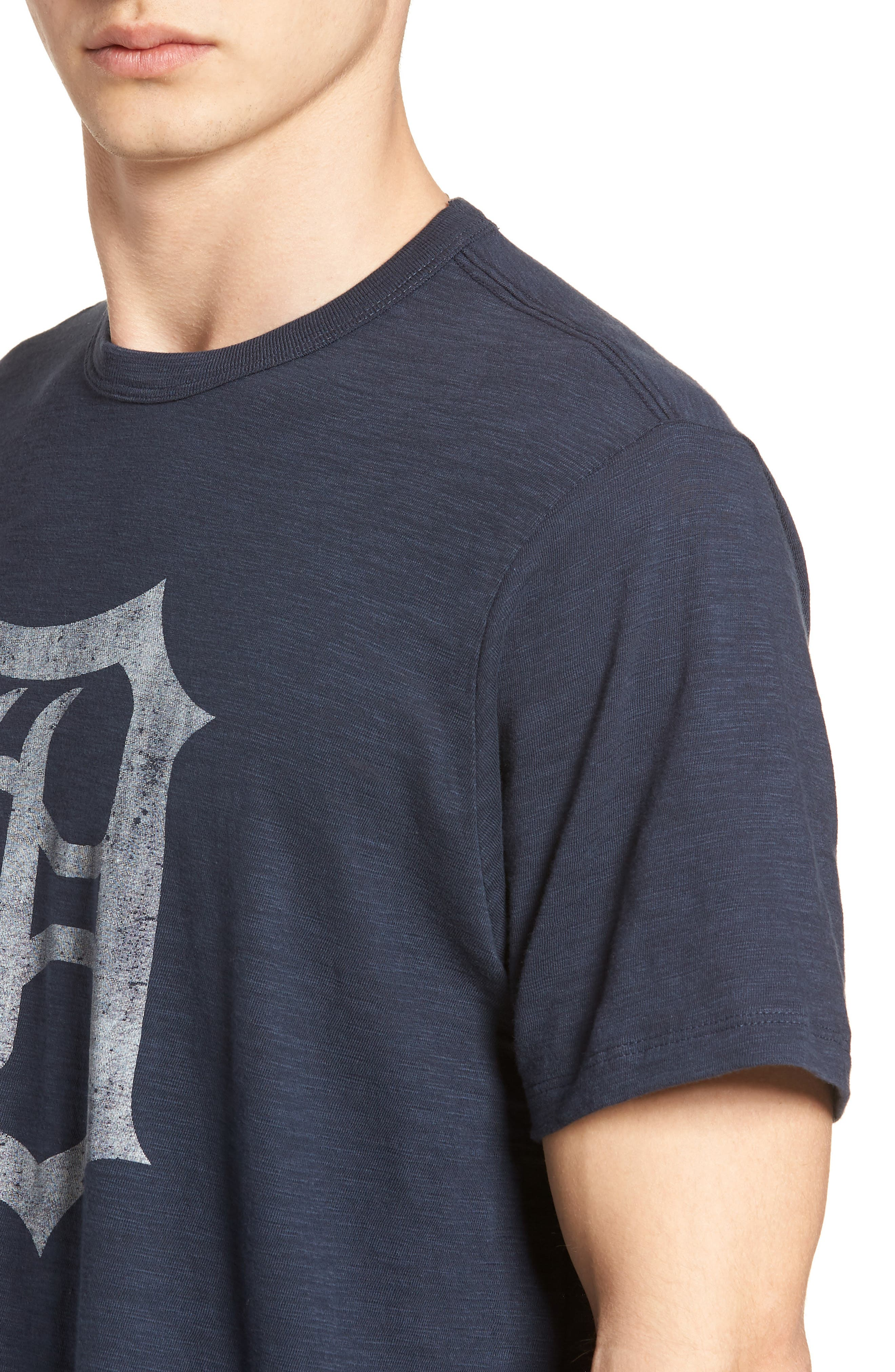 MLB Grit Scrum Detroit Tigers T-Shirt,                             Alternate thumbnail 4, color,                             Midnight