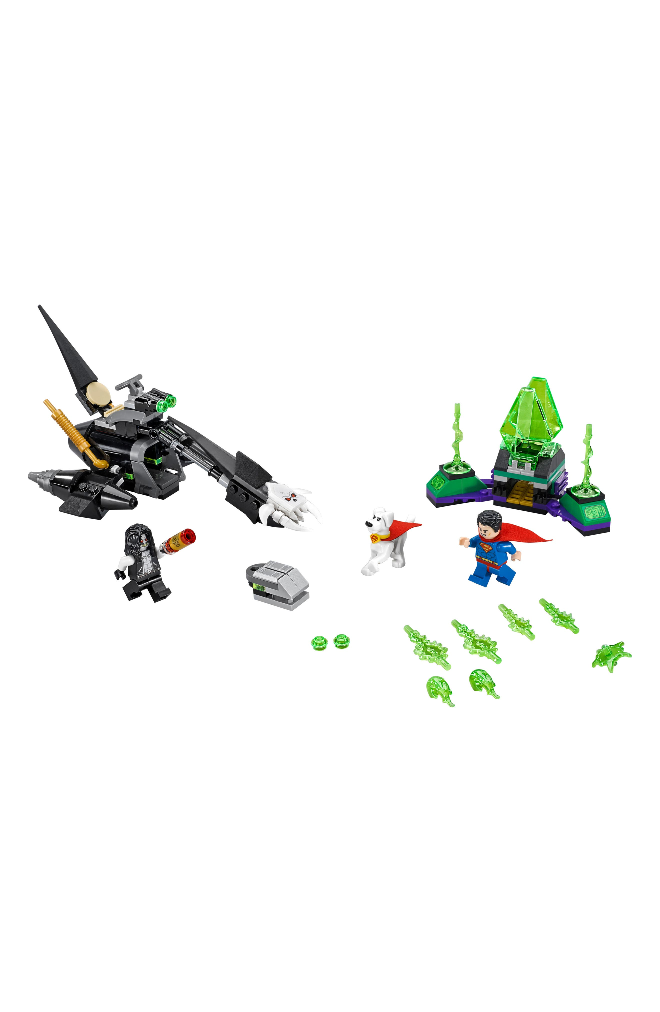 DC Super Heroes<sup>™</sup> Superman<sup>™</sup> & Krypto<sup>™</sup> Team-Up Play Set - 76096,                             Alternate thumbnail 2, color,                             Multi