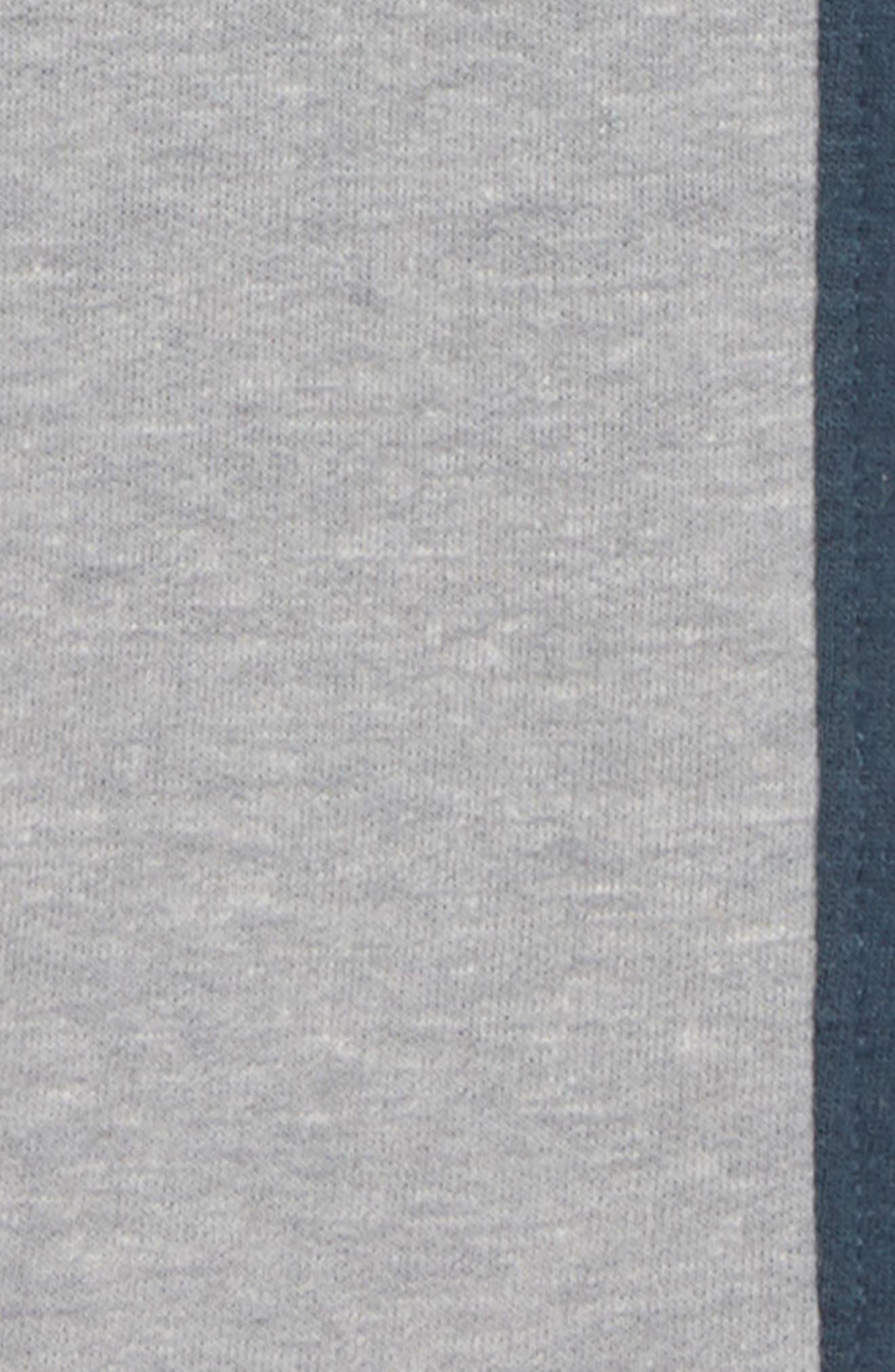 Varsity Fleece Jogger Pants,                             Alternate thumbnail 2, color,                             Grey Medium Heather- Navy