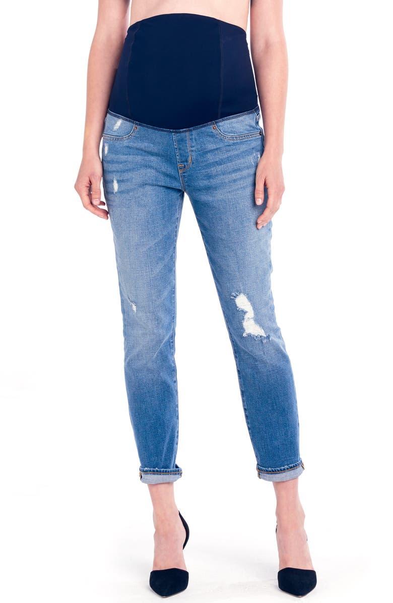 Mia Maternity Boyfriend Jeans