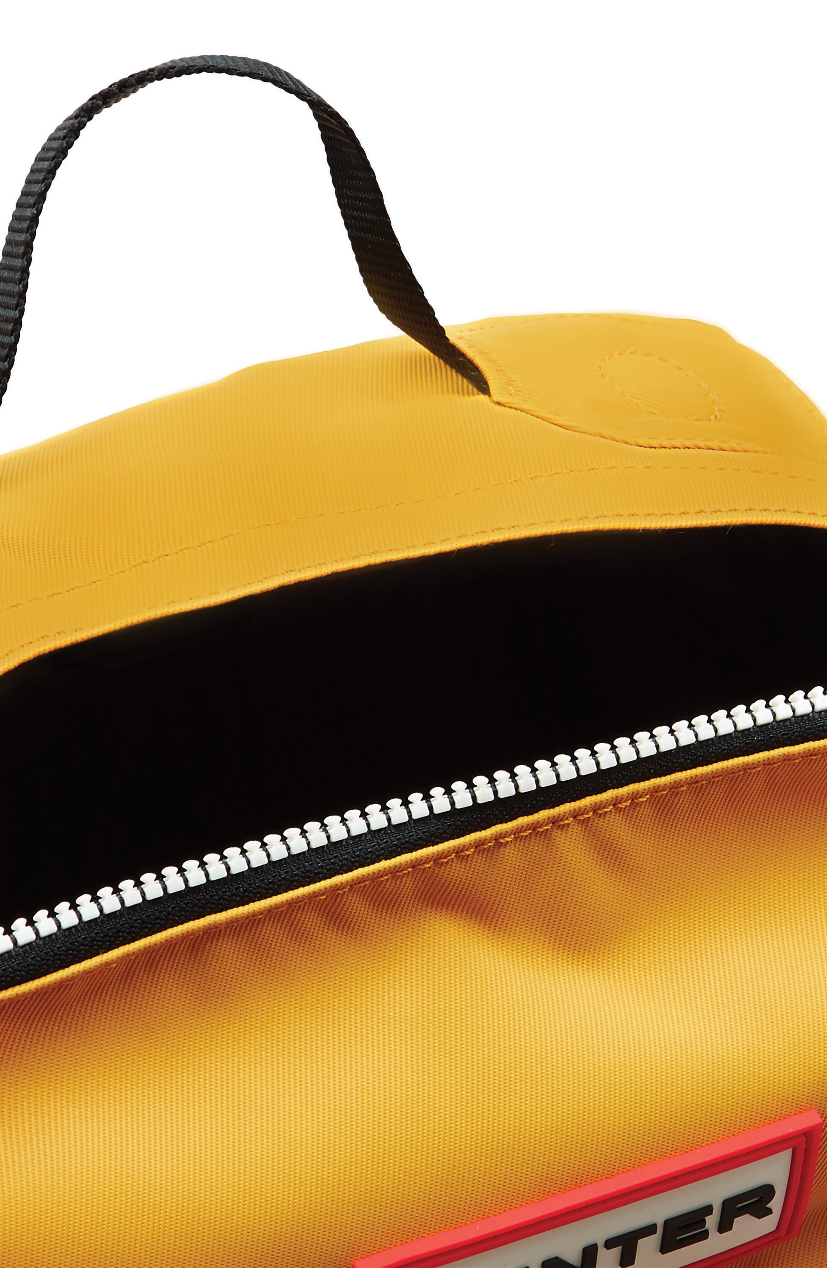 Original Water Resistant Nylon Backpack,                             Alternate thumbnail 4, color,                             Yellow