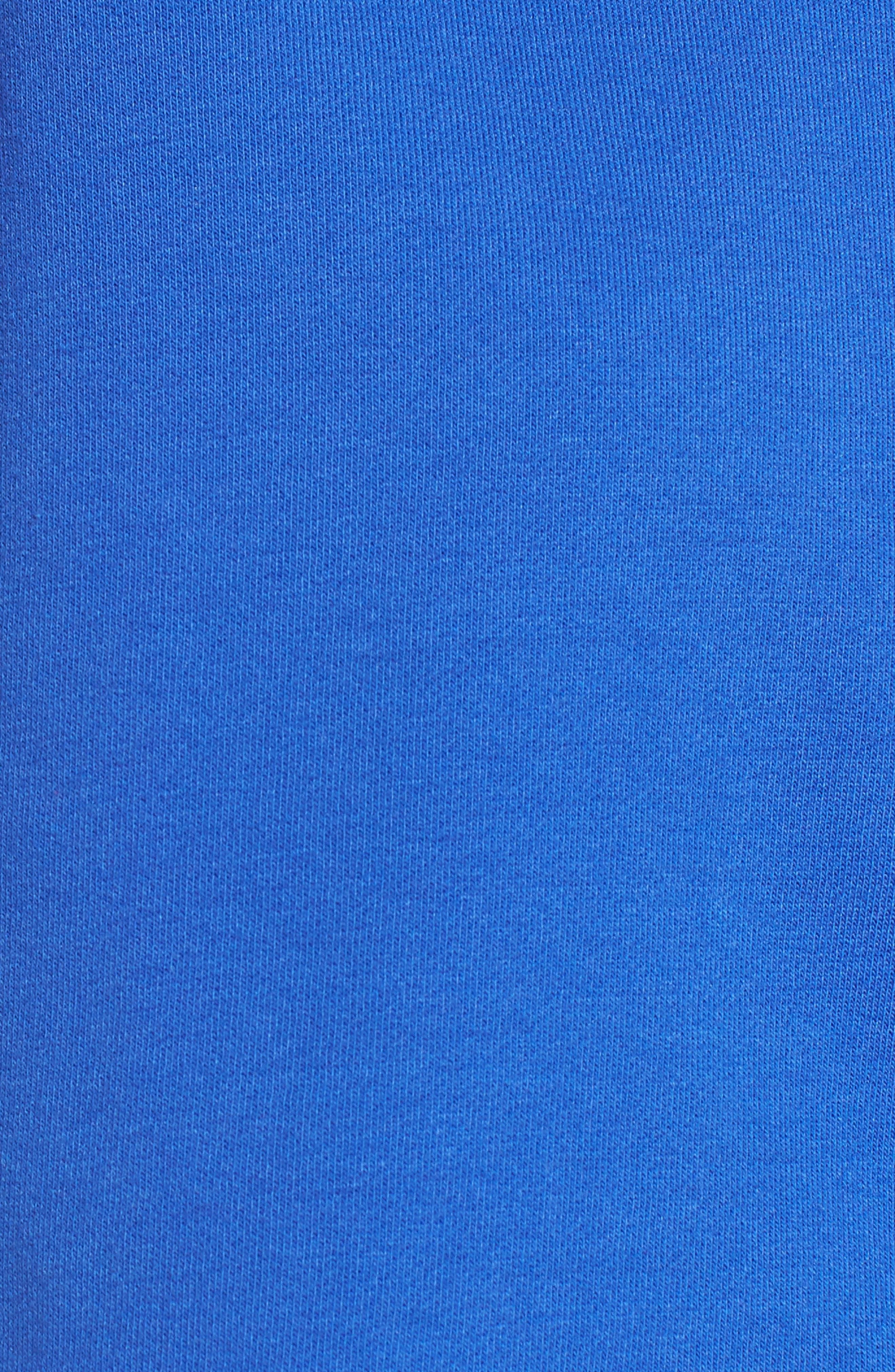 FENTY PUMA by Rihanna Hooded Crop Sweatshirt,                             Alternate thumbnail 6, color,                             Dazzling Blue