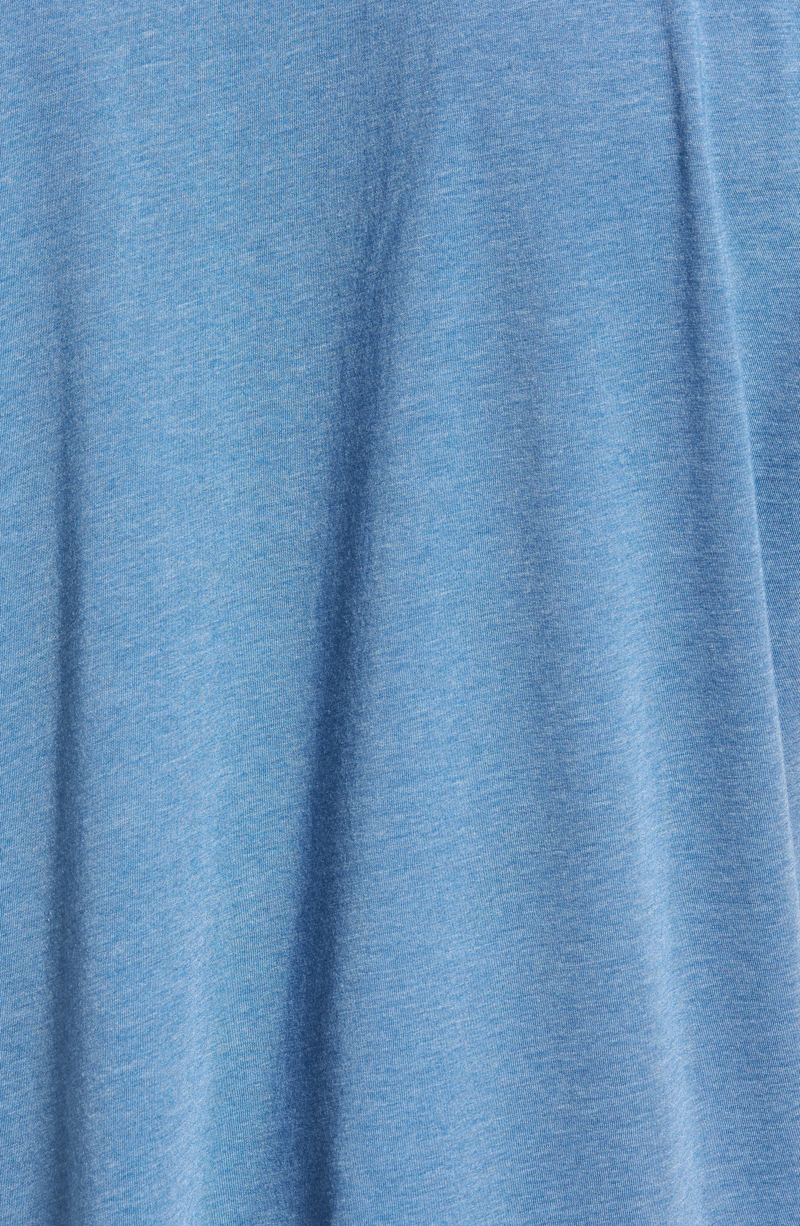 Devo Graphic T-Shirt,                             Alternate thumbnail 5, color,                             Heather Blue
