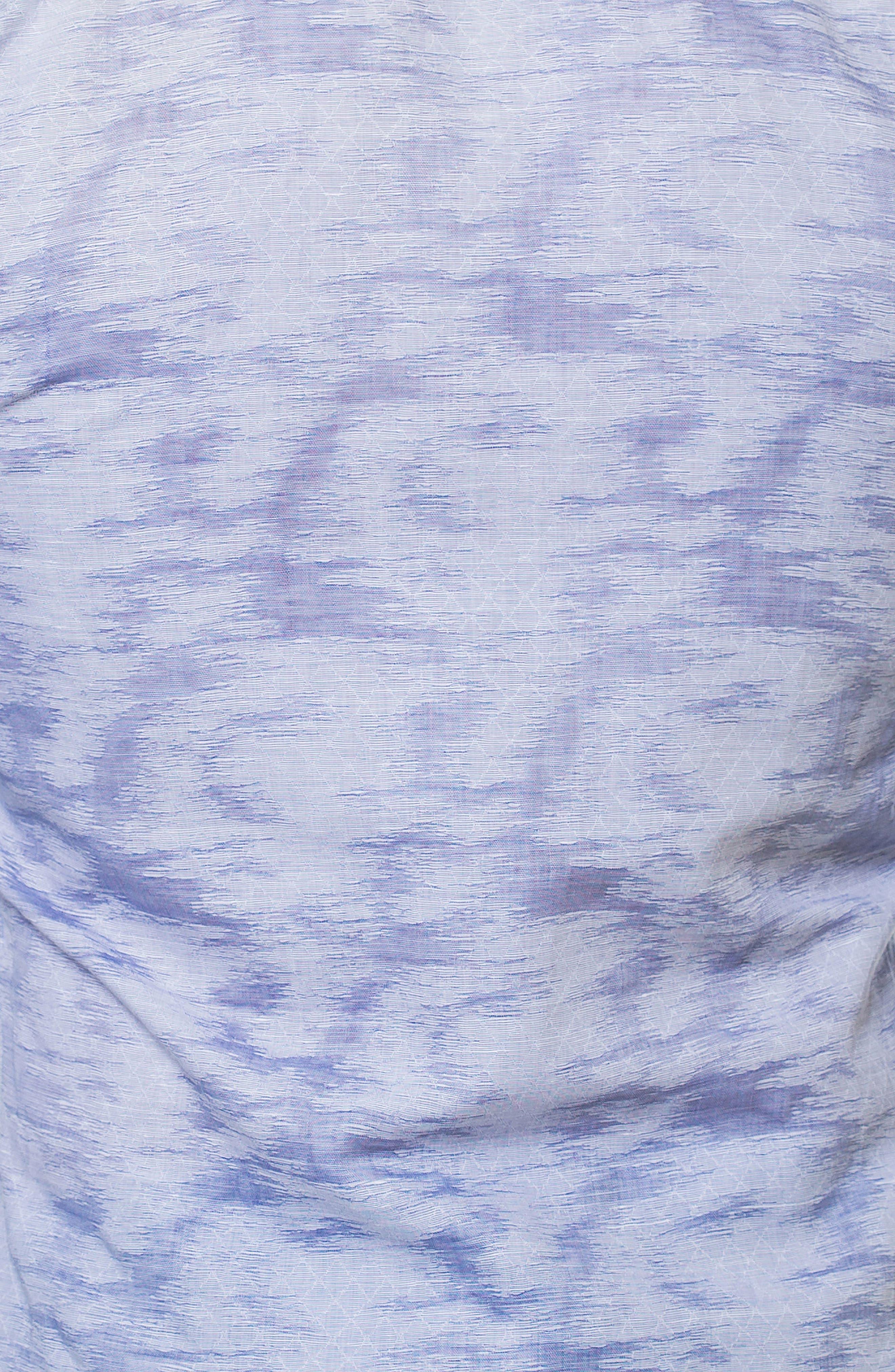 Luxor Richter Slim Fit Sport Shirt,                             Alternate thumbnail 4, color,                             Grey