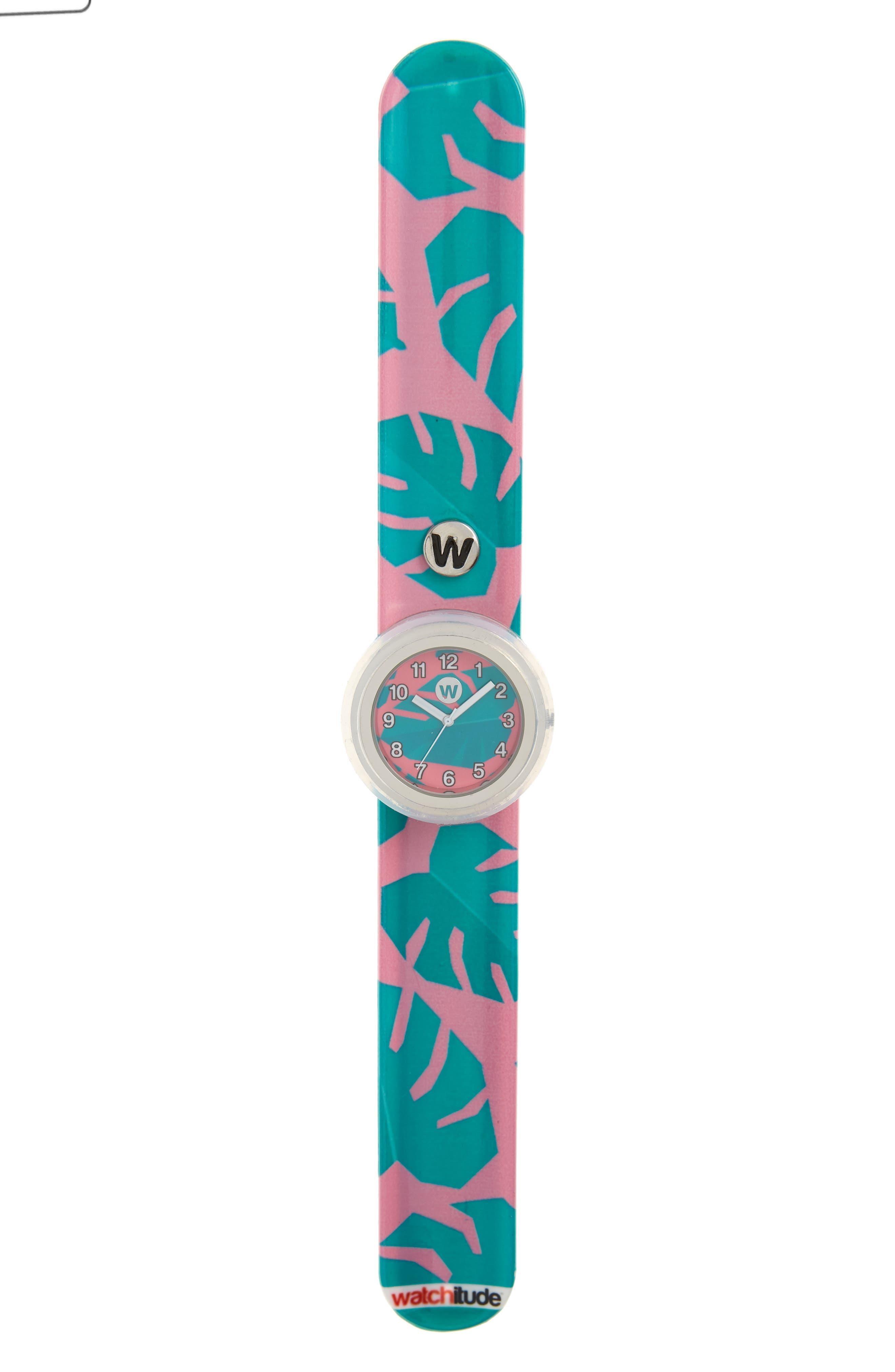 Tropical Slap Watch,                         Main,                         color, Multi