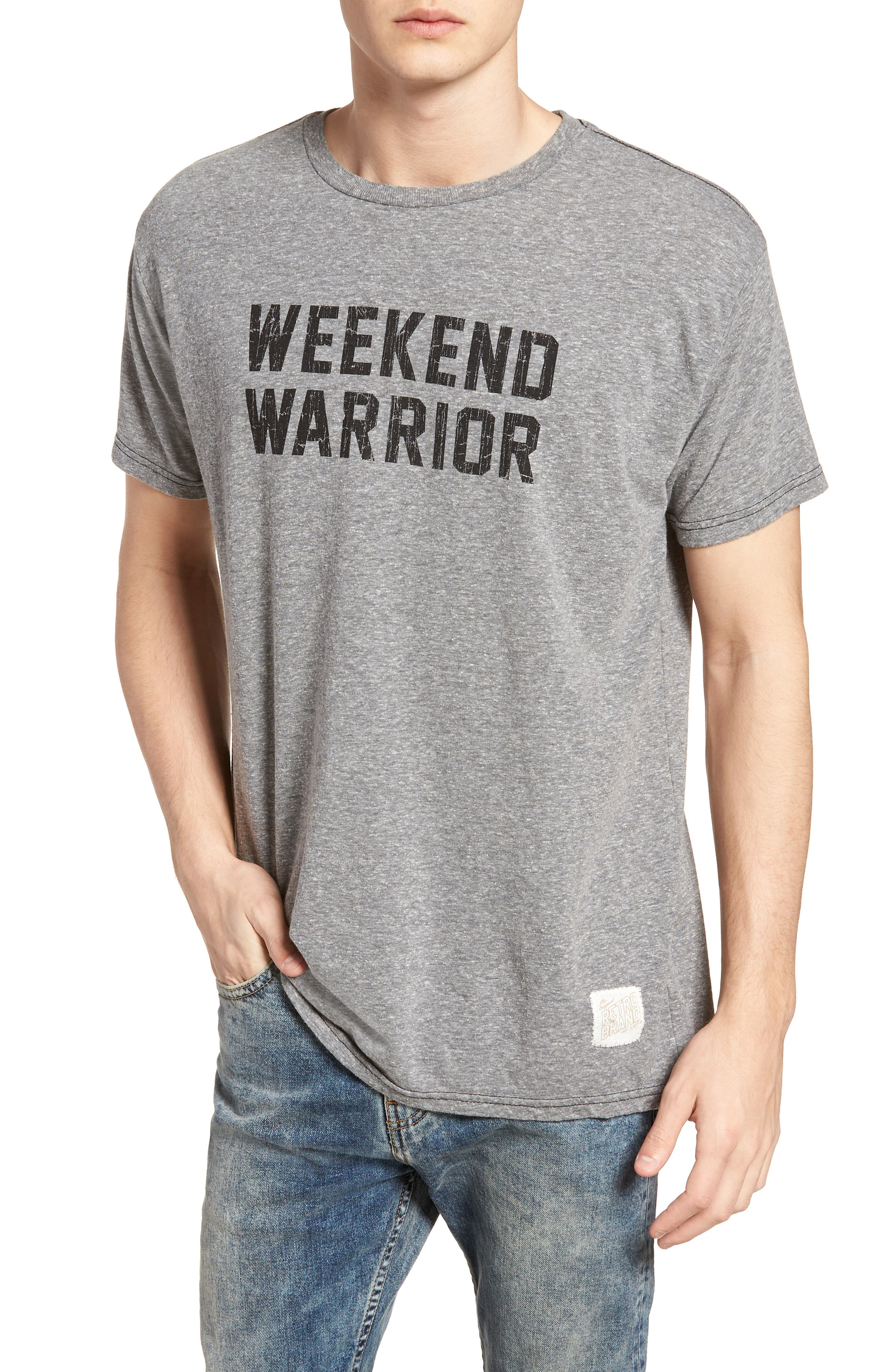 Alternate Image 1 Selected - Retro Brand Weekend Warrior T-Shirt