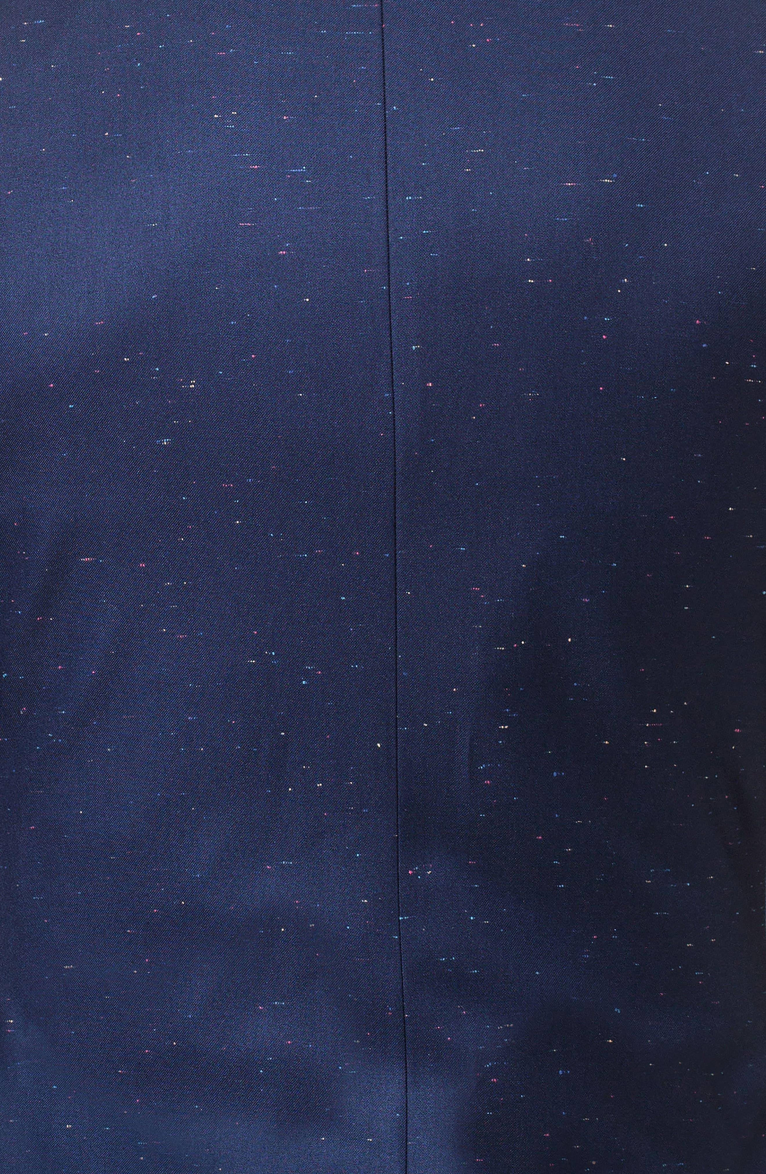 Descartes Sprinkle Linen & Cotton Blend Sport Coat,                             Alternate thumbnail 4, color,                             Blue