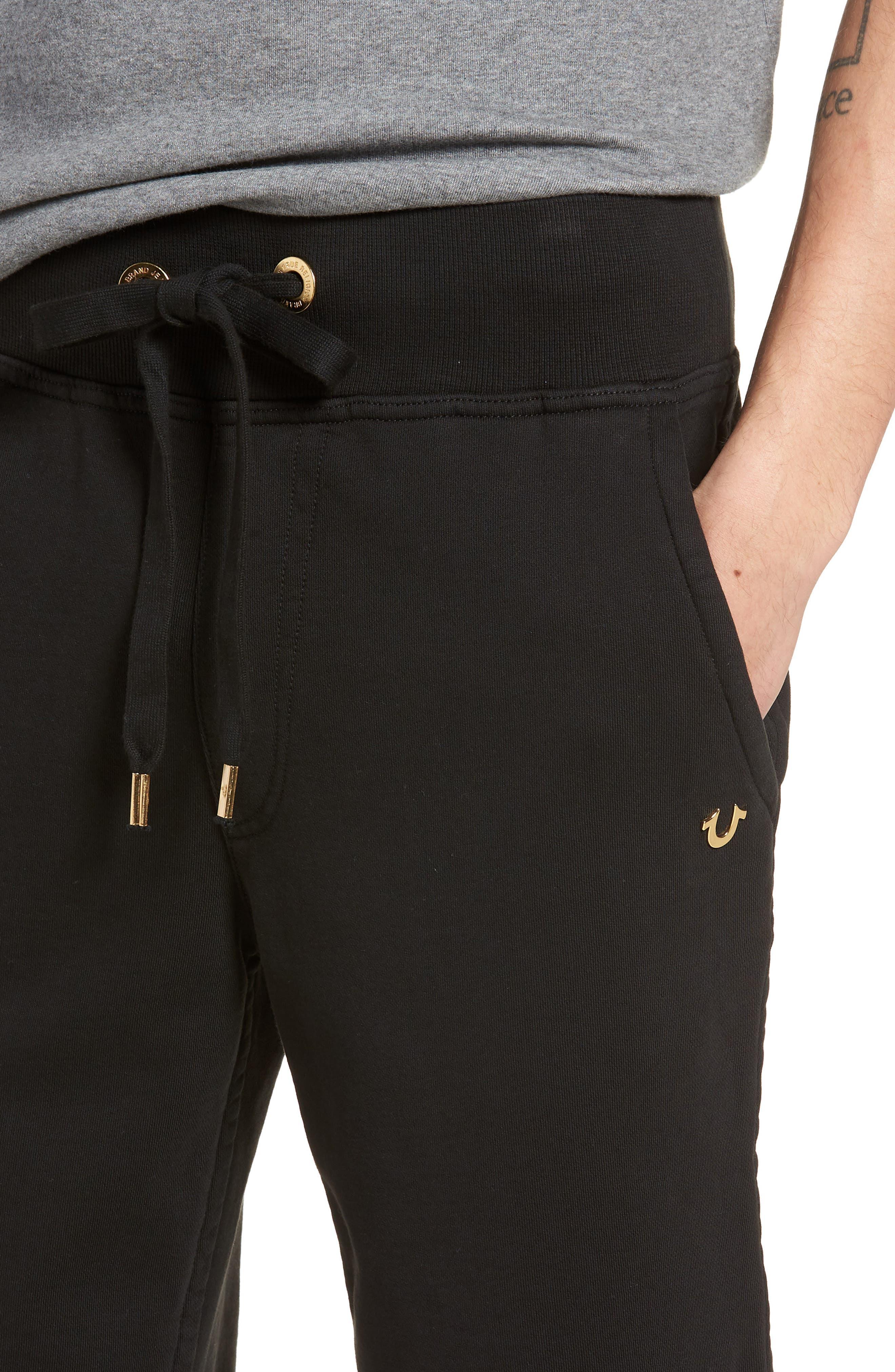 Core Shorts,                             Alternate thumbnail 4, color,                             True Black