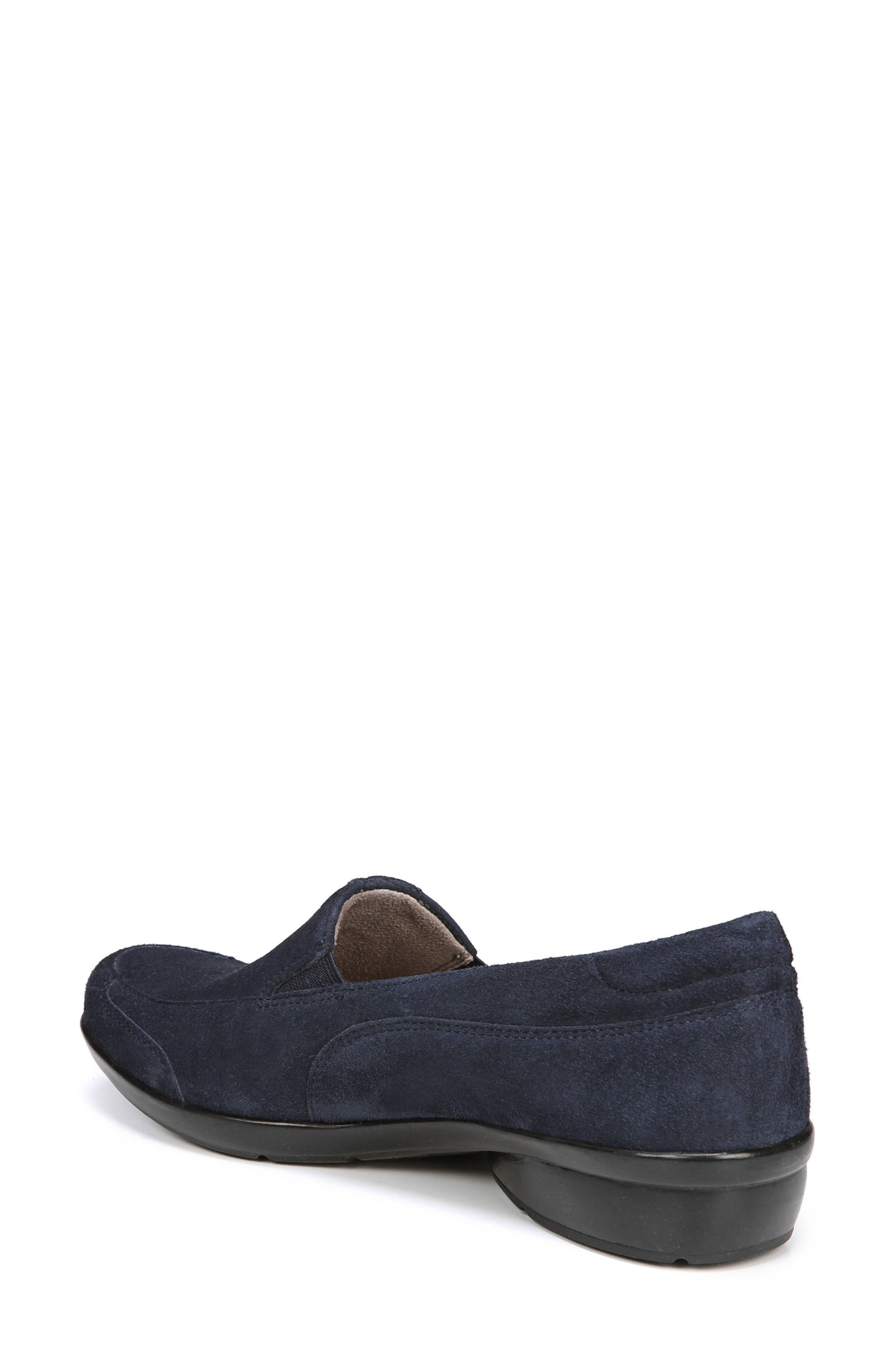 'Channing' Loafer,                             Alternate thumbnail 2, color,                             Navy Suede