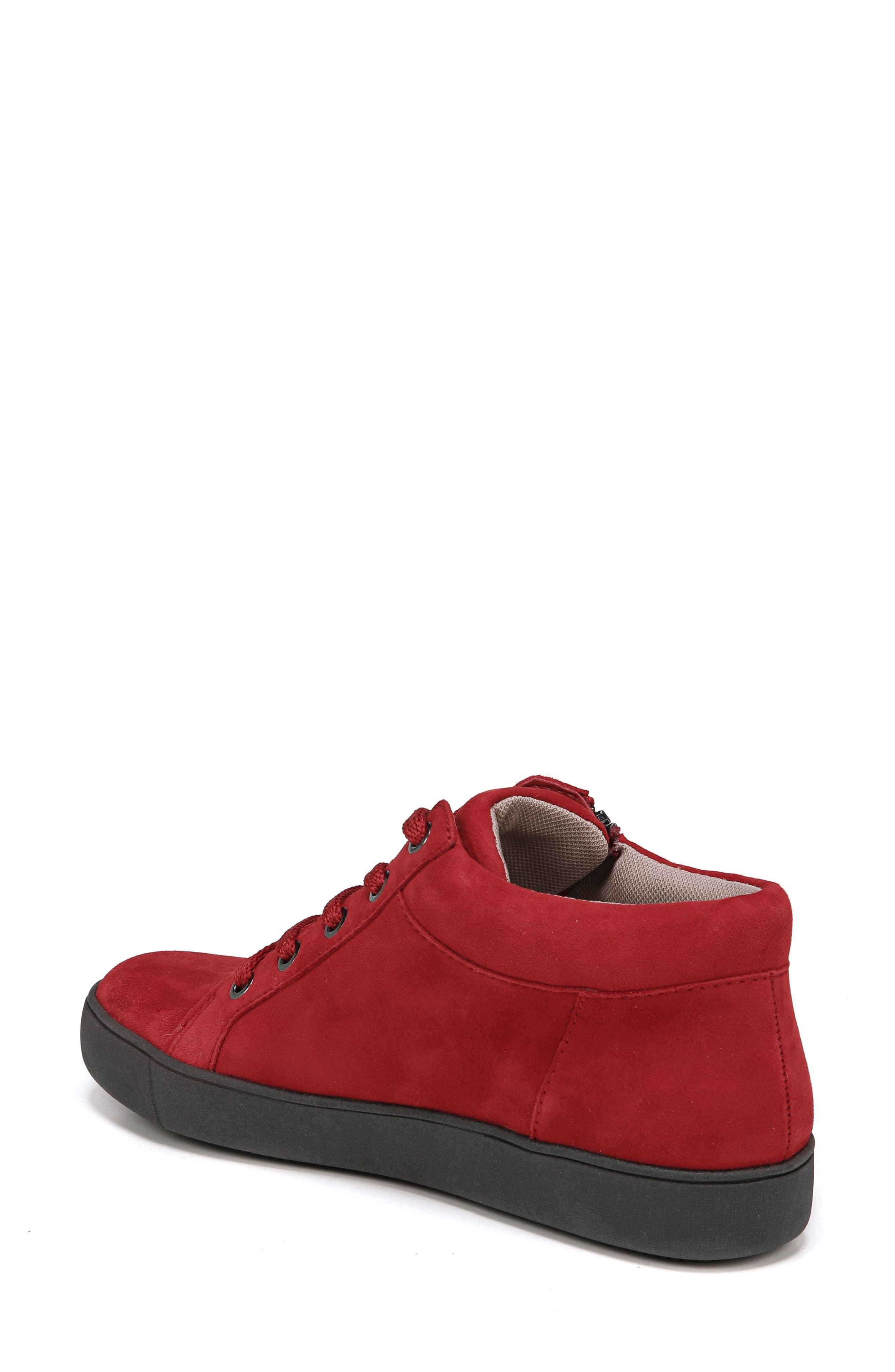 Motley Sneaker,                             Alternate thumbnail 2, color,                             Hot Sauce Suede
