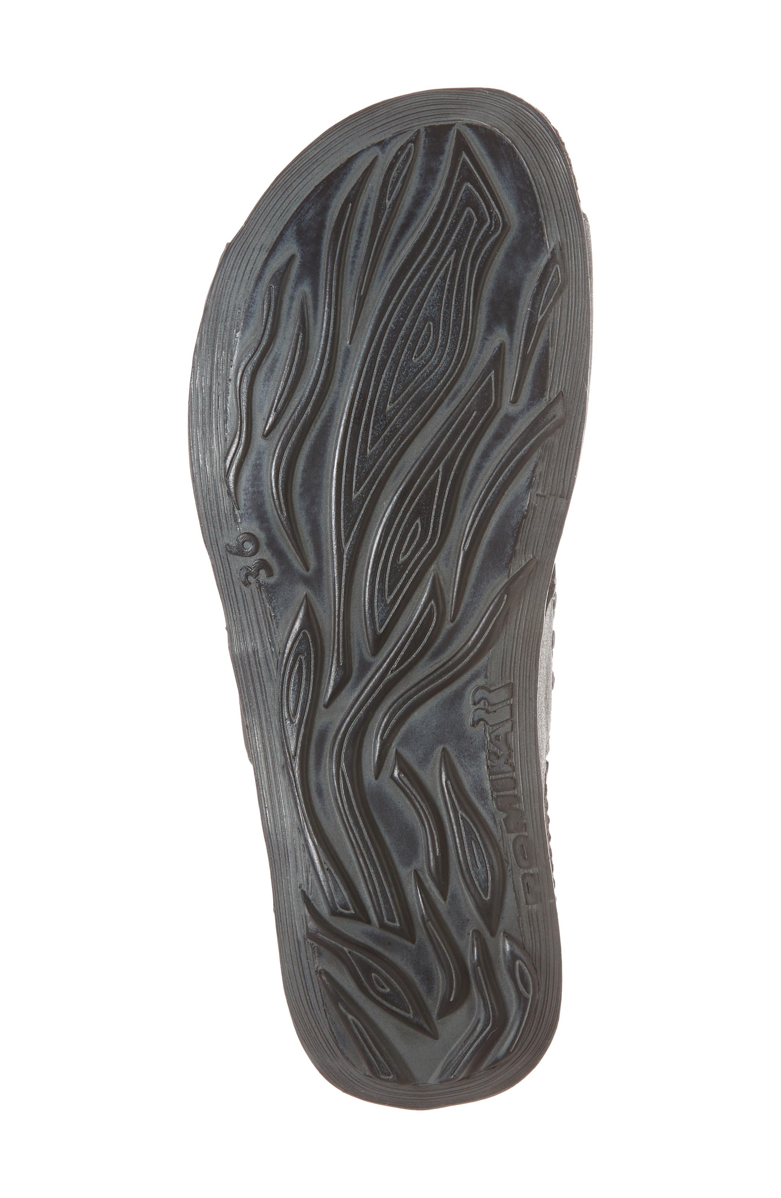 Fidschi 49 Sandal,                             Alternate thumbnail 6, color,                             Anthrazit Leather