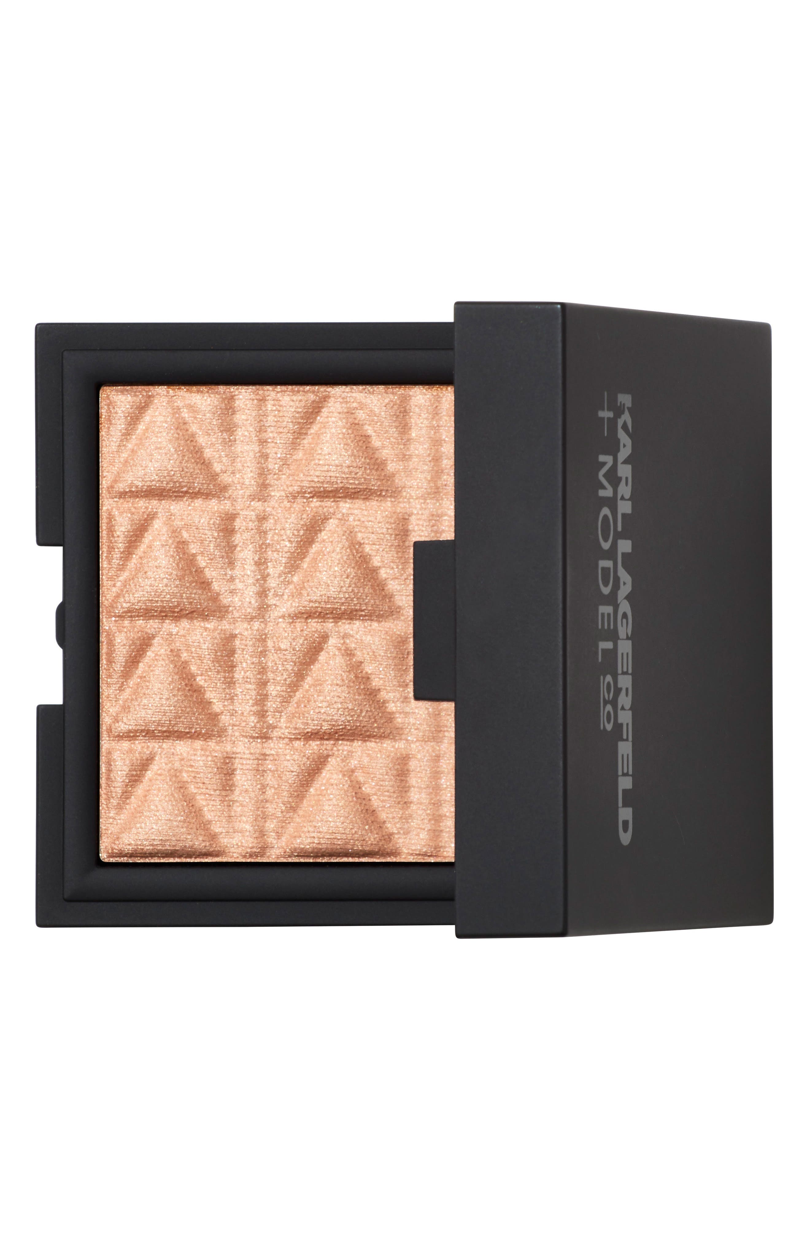 KARL LAGERFELD + MODELCO Kiss Me Karl Luxe Highlight & Glow,                             Main thumbnail 1, color,                             Opal