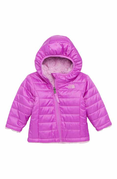 The North Face Mossbud Reversible Water Repellent Heatseeker™ Insulated  Jacket (Baby Girls) 7e14f4cf5