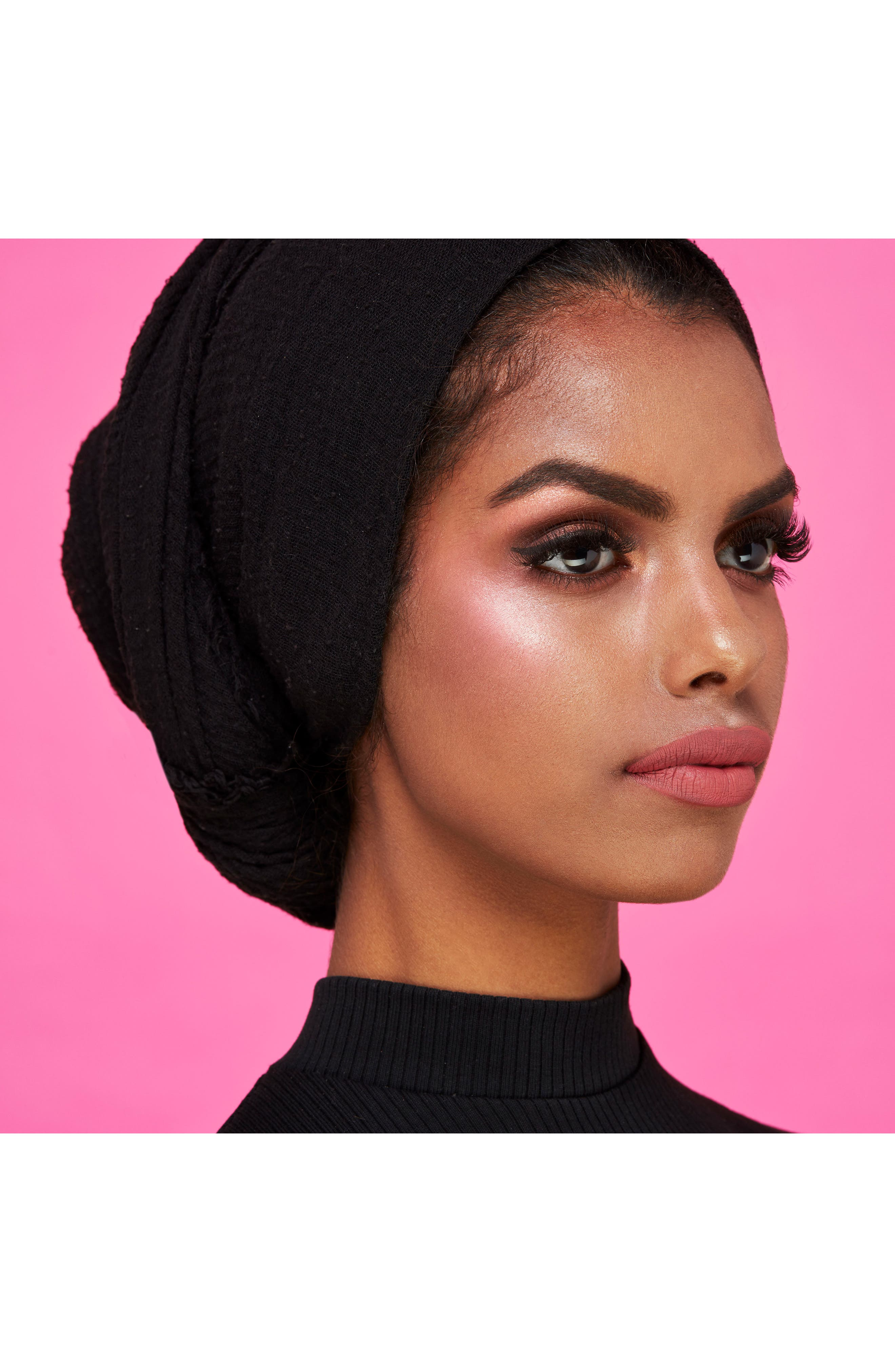KARL LAGERFELD + MODELCO Kiss Me Karl Luxe Highlight & Glow,                             Alternate thumbnail 3, color,                             Nude Pink