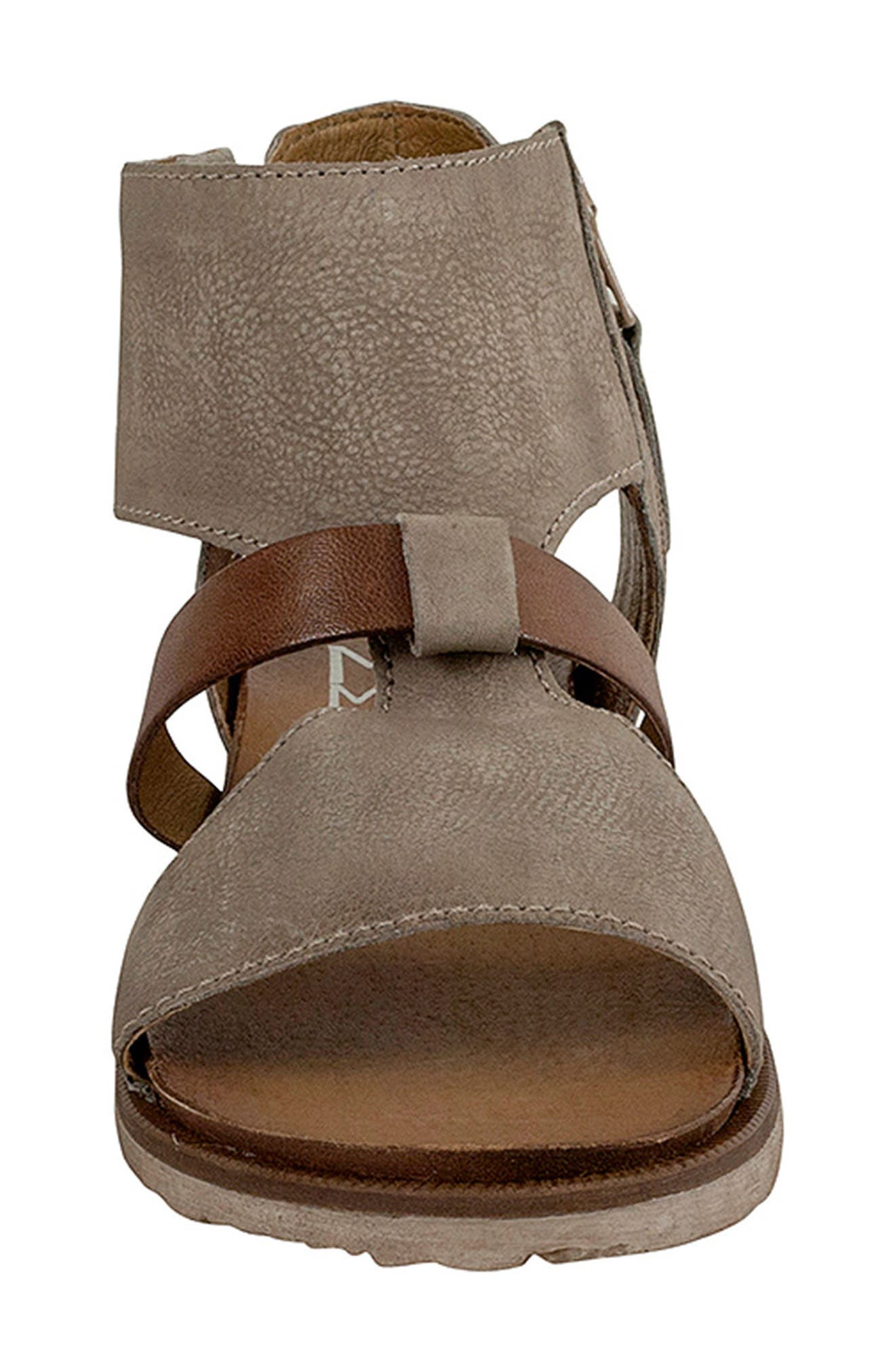 'Tamsyn' Sandal,                             Alternate thumbnail 4, color,                             Pebble Leather