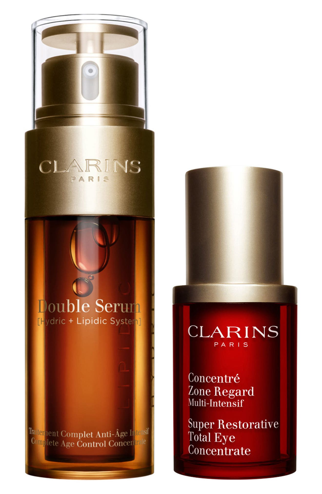 Clarins Double Serum & Total Eye Concentrate Duo (Limited Edition)