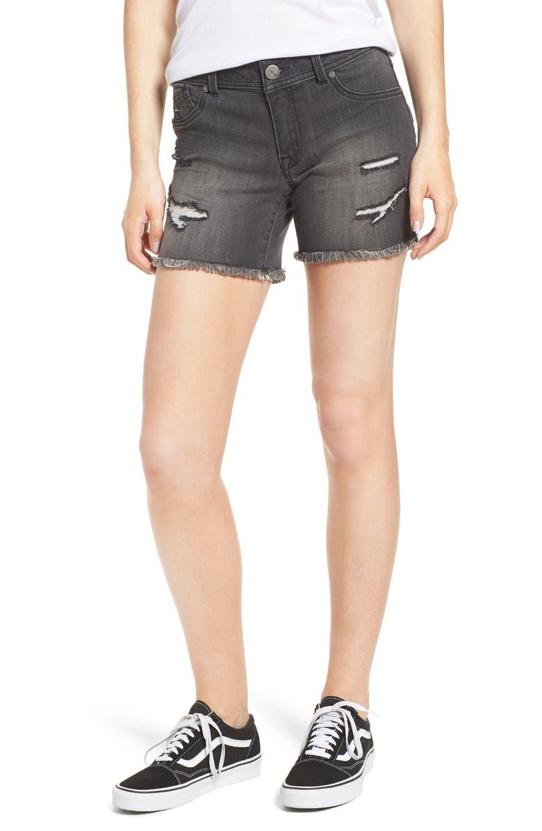 Decon Distressed Denim Shorts