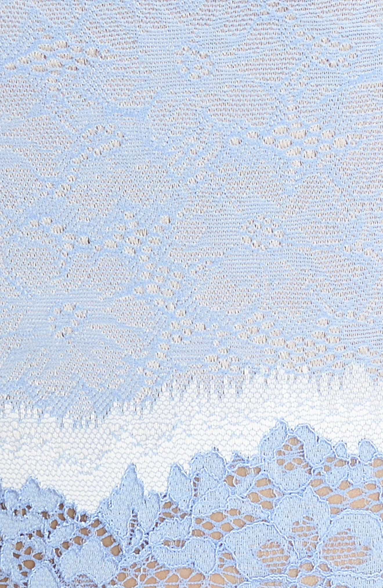 Lace Boyshorts,                             Alternate thumbnail 9, color,                             Hydrangea/ Ivory
