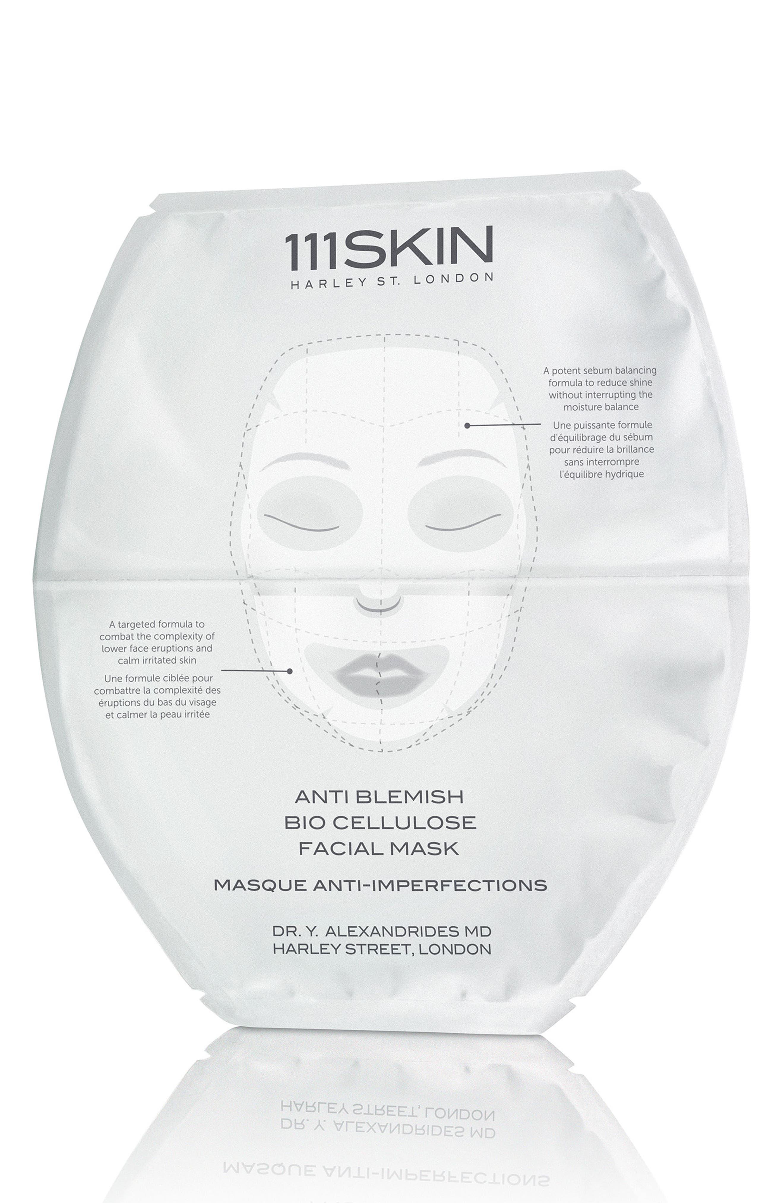 SPACE.NK.apothecary 111SKIN Anti-Blemish Bio-Cellulose Facial Mask,                             Alternate thumbnail 2, color,                             No Color