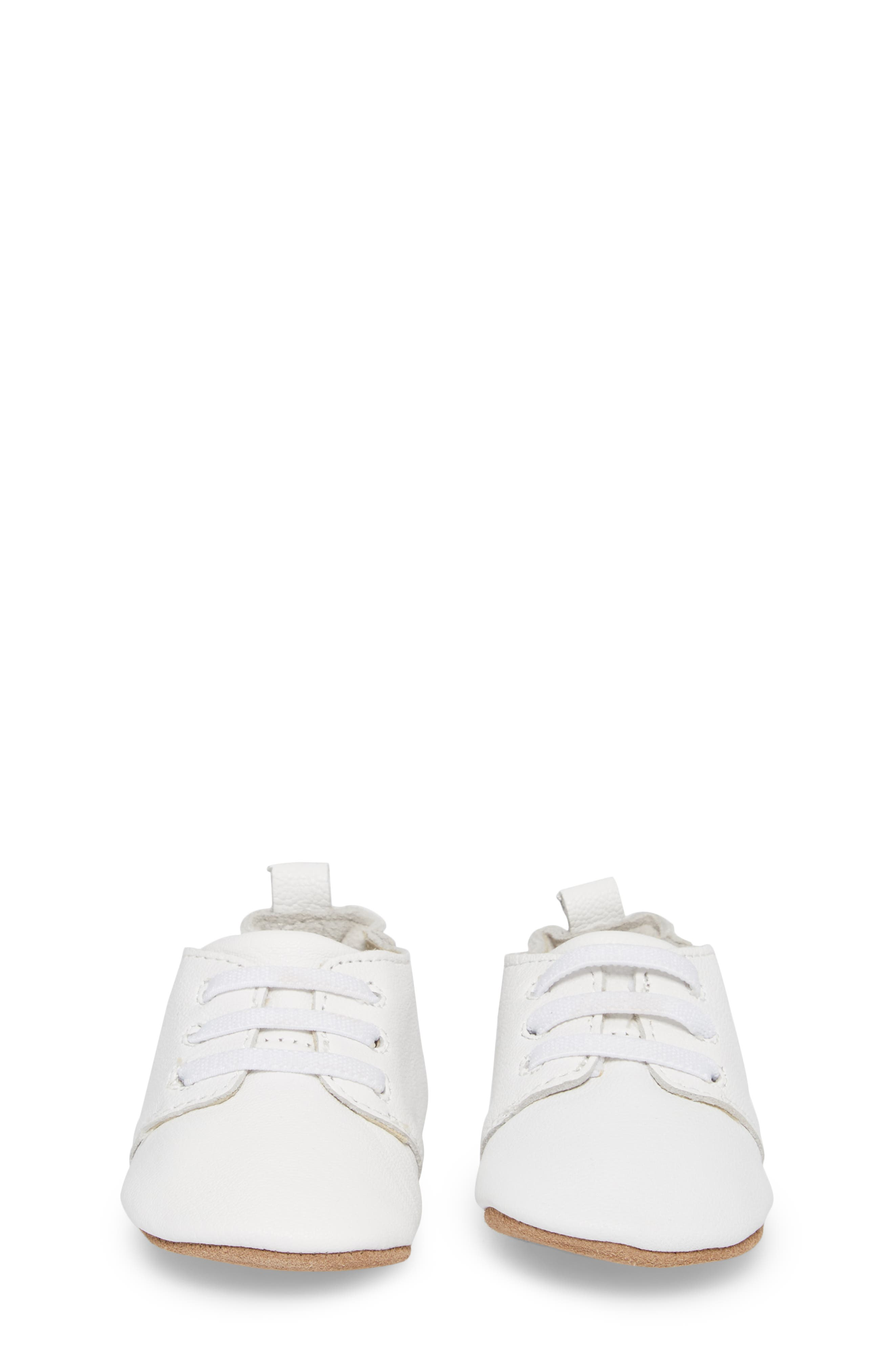 Owen Oxford Crib Shoe,                             Alternate thumbnail 5, color,                             White