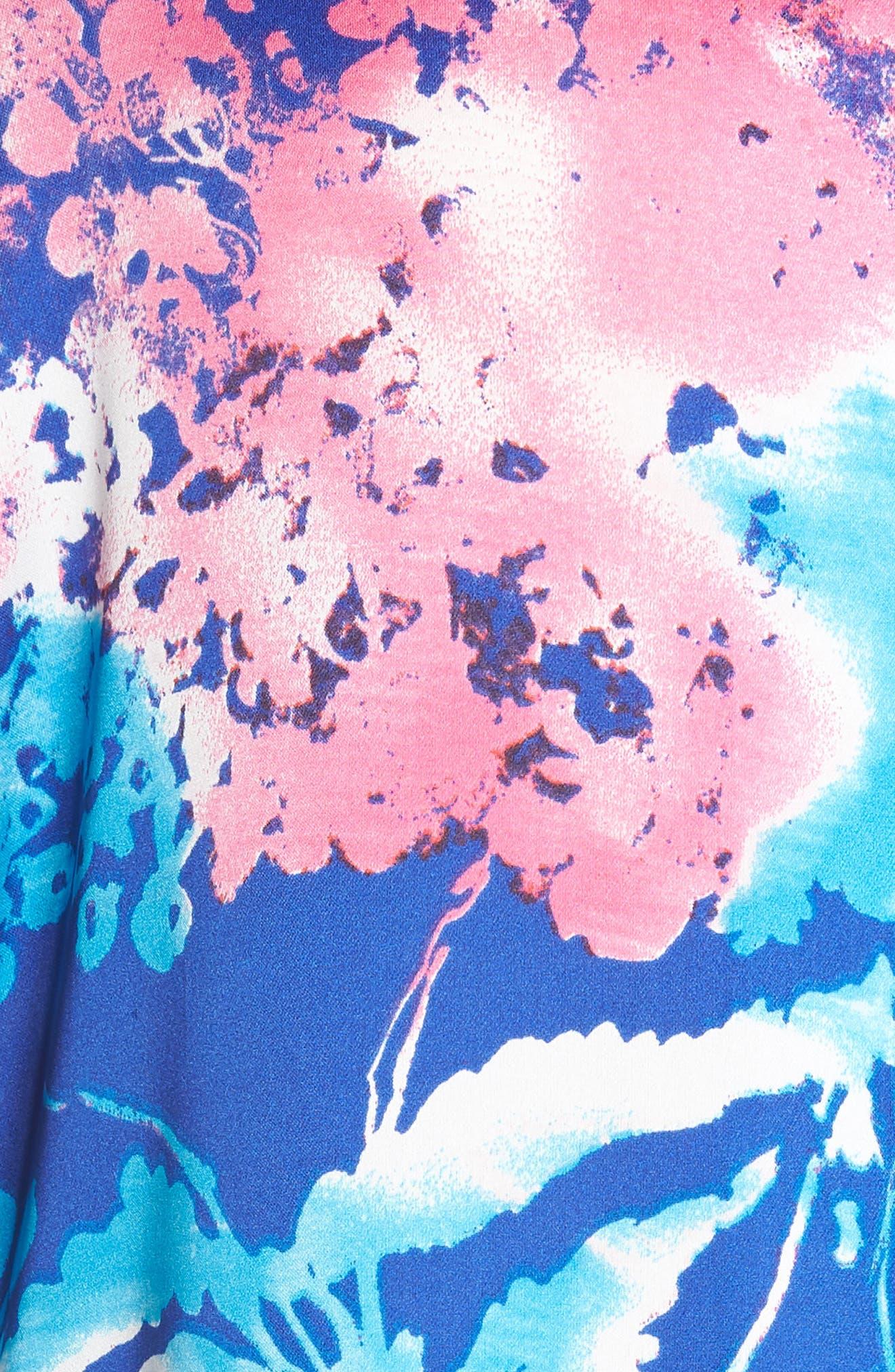 Fiji Short Pajamas,                             Alternate thumbnail 5, color,                             Cobalt