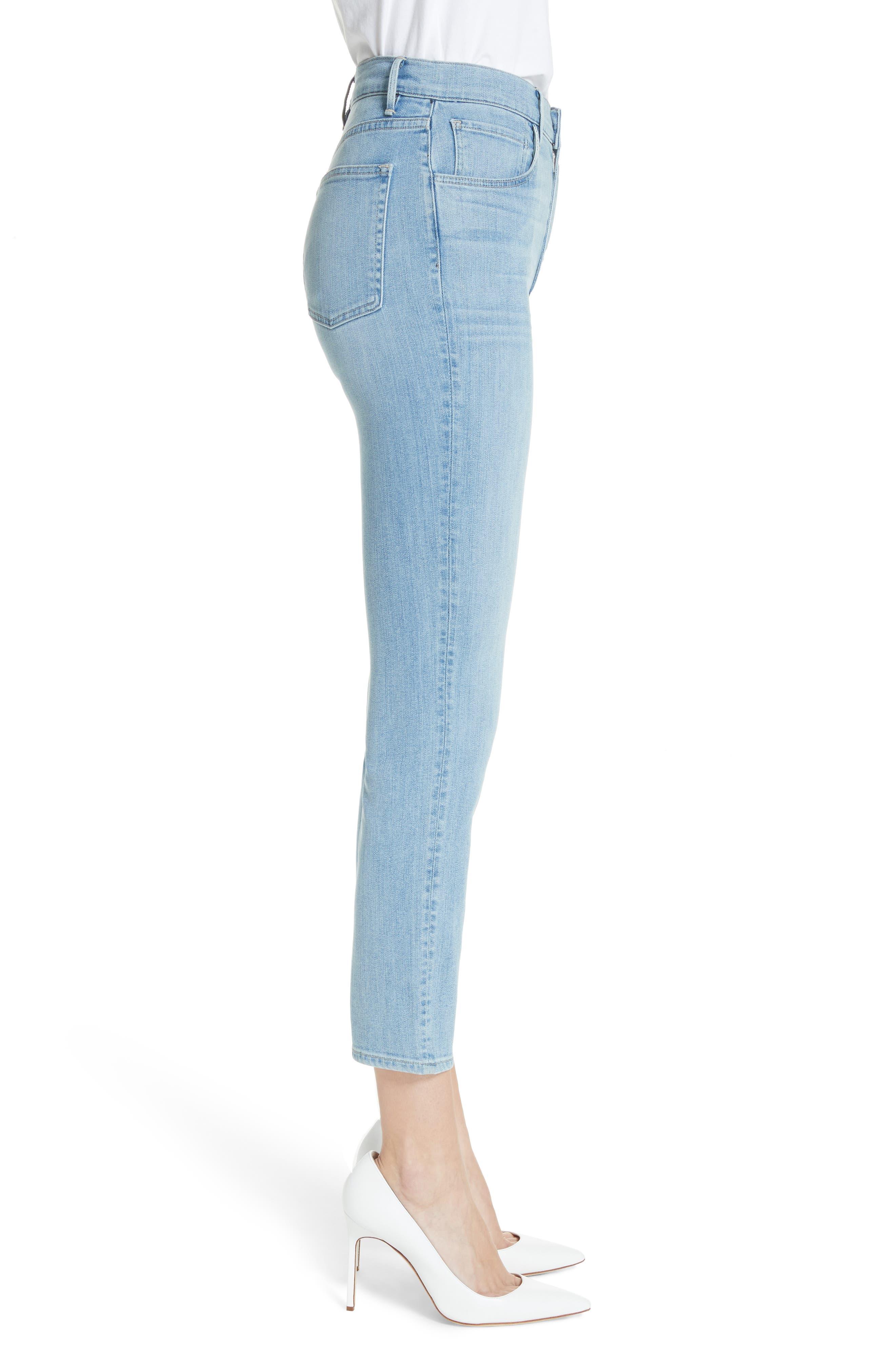 W4 Colette Crop Skinny Jeans,                             Alternate thumbnail 3, color,                             Carlo