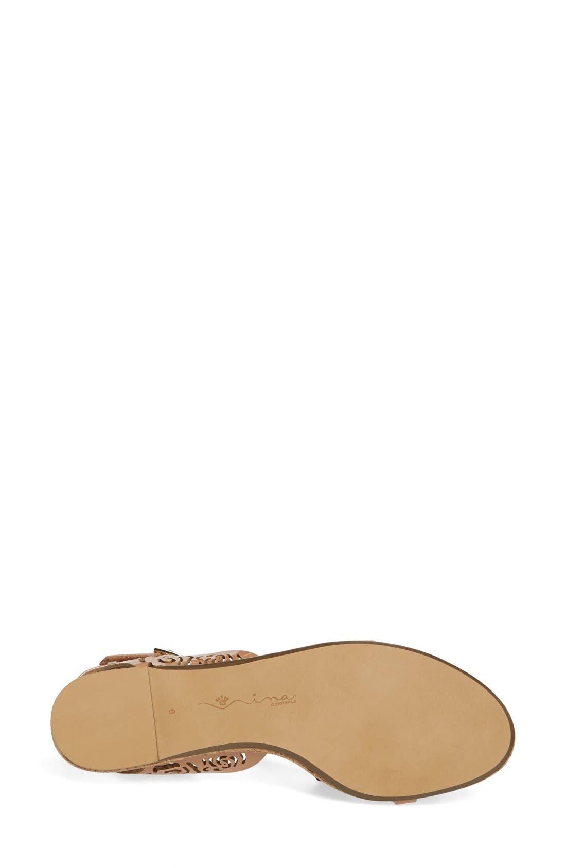 Alternate Image 4  - Nina Originals 'Shiloh' Ankle Strap Sandal (Women)