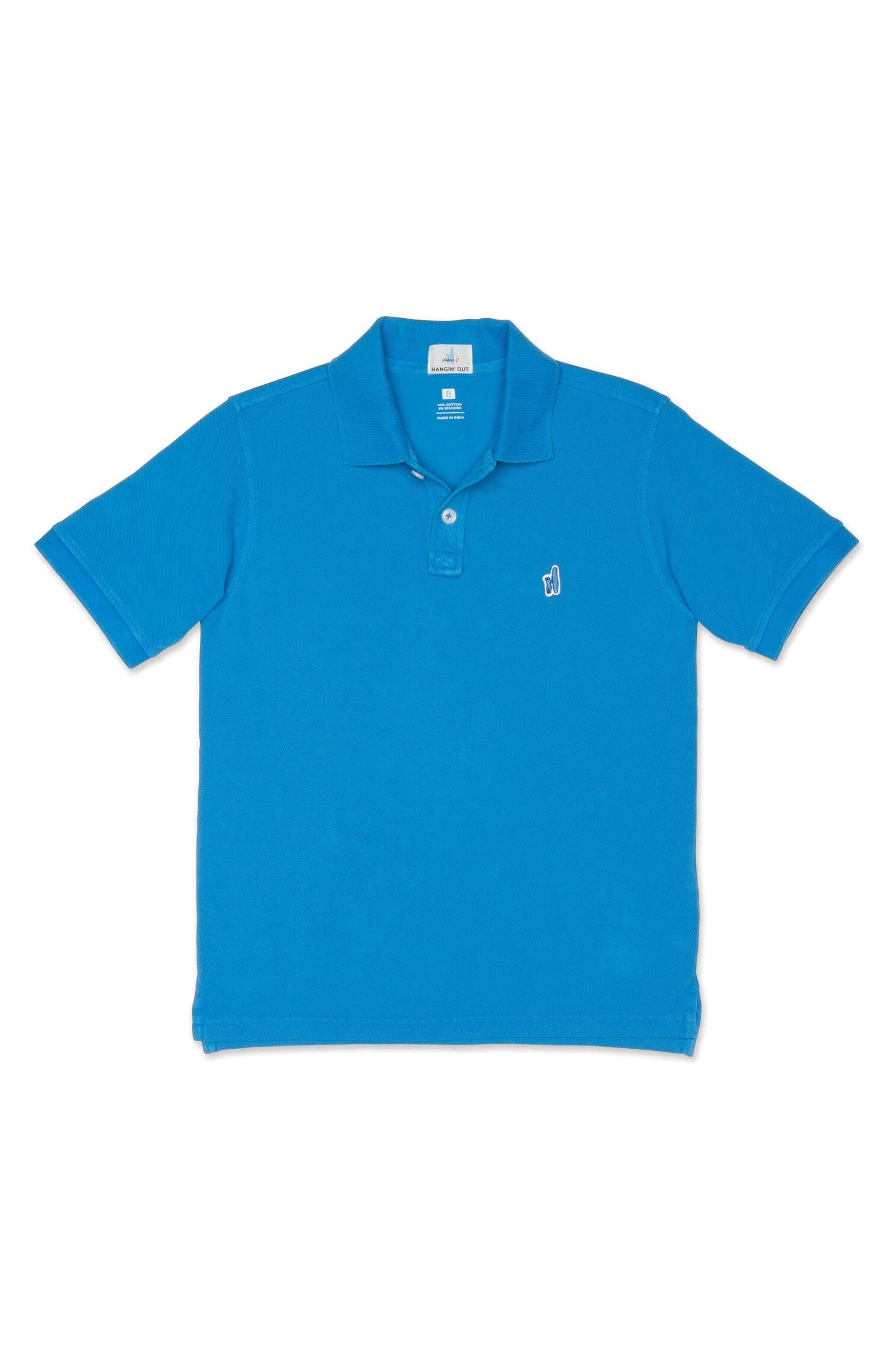 Duncan Solid Polo,                         Main,                         color, Gemini Blue