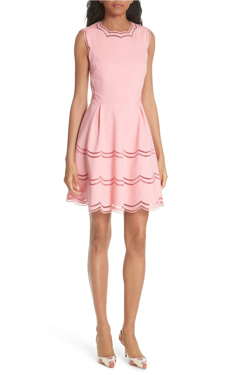 f51a8de3380e embroidered-skater-dress by ted-baker-london