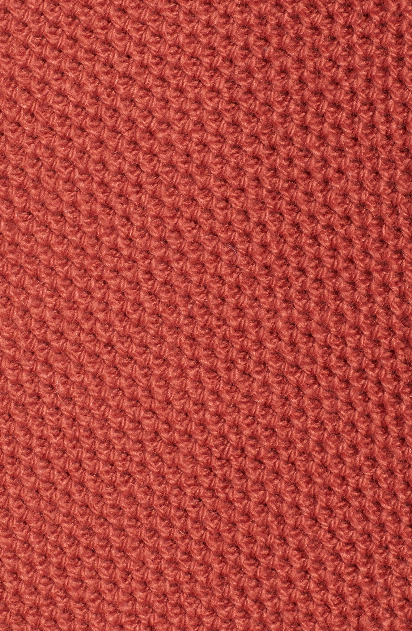 Province Cross Back Knit Pullover,                             Alternate thumbnail 6, color,                             Spiced Rose