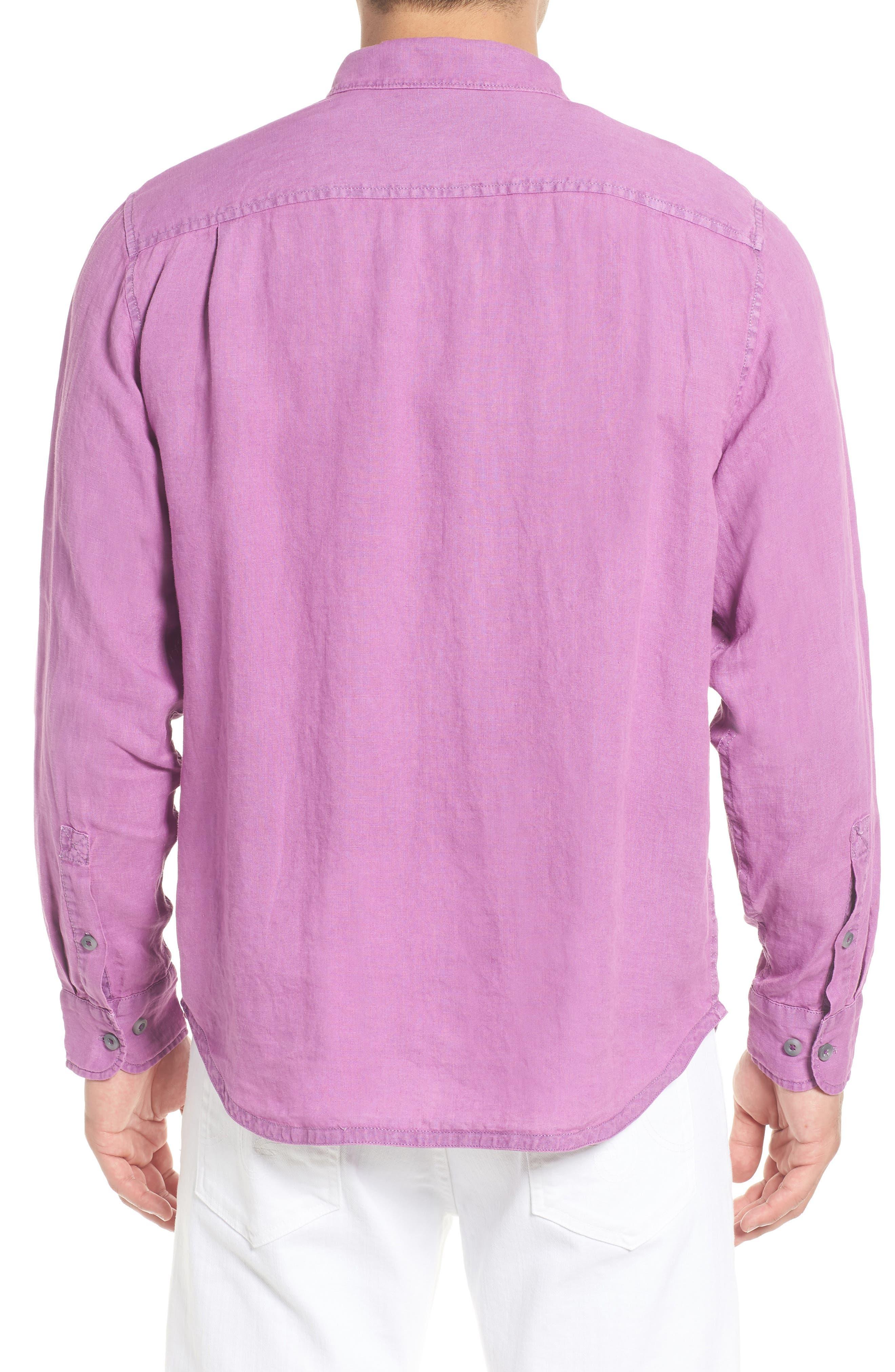 Alternate Image 3  - Tommy Bahama Seaspray Breezer Standard Fit Linen Sport Shirt