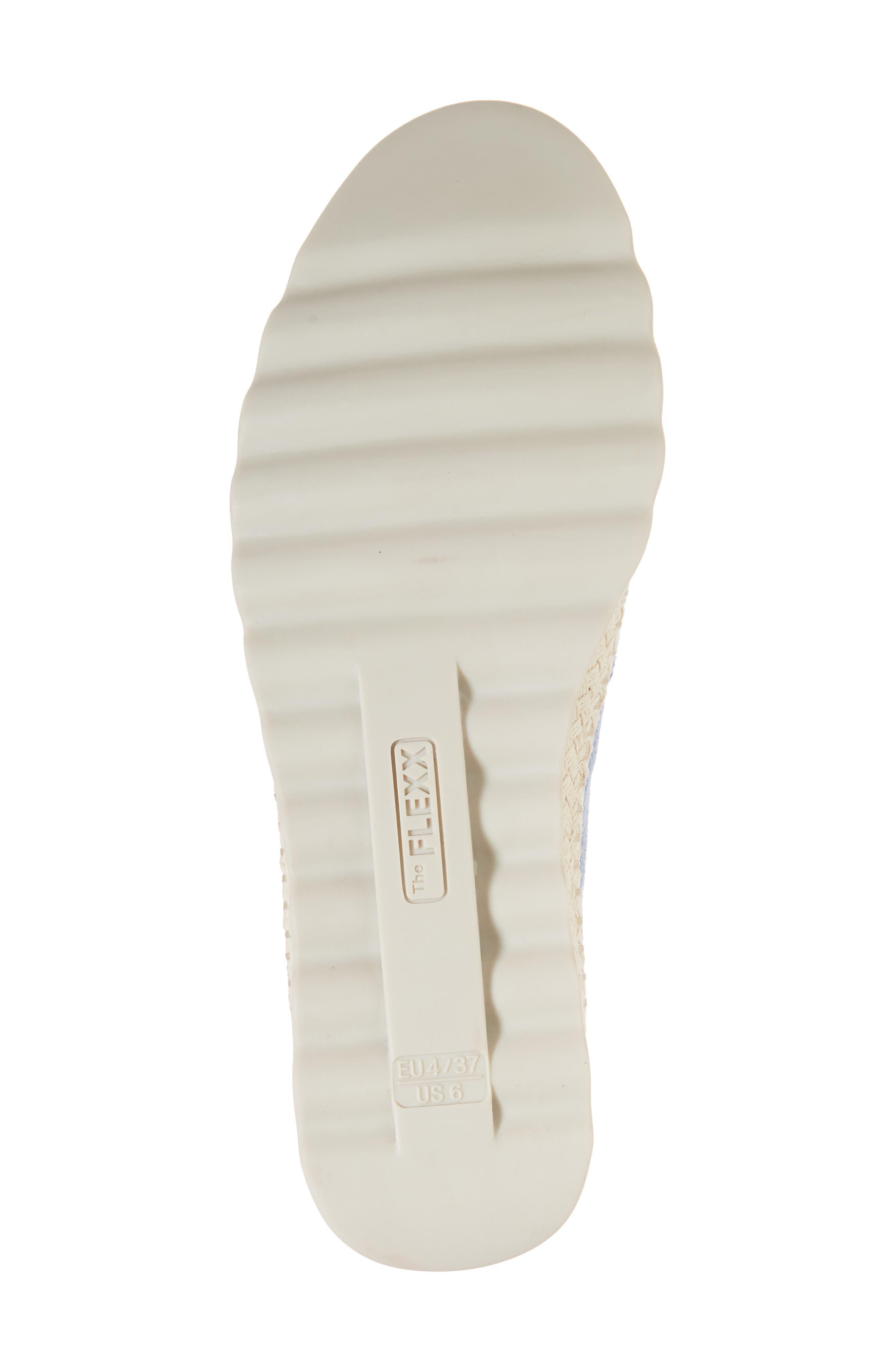 Chappie Slip-On Sneaker,                             Alternate thumbnail 6, color,                             Denim Printed Suede