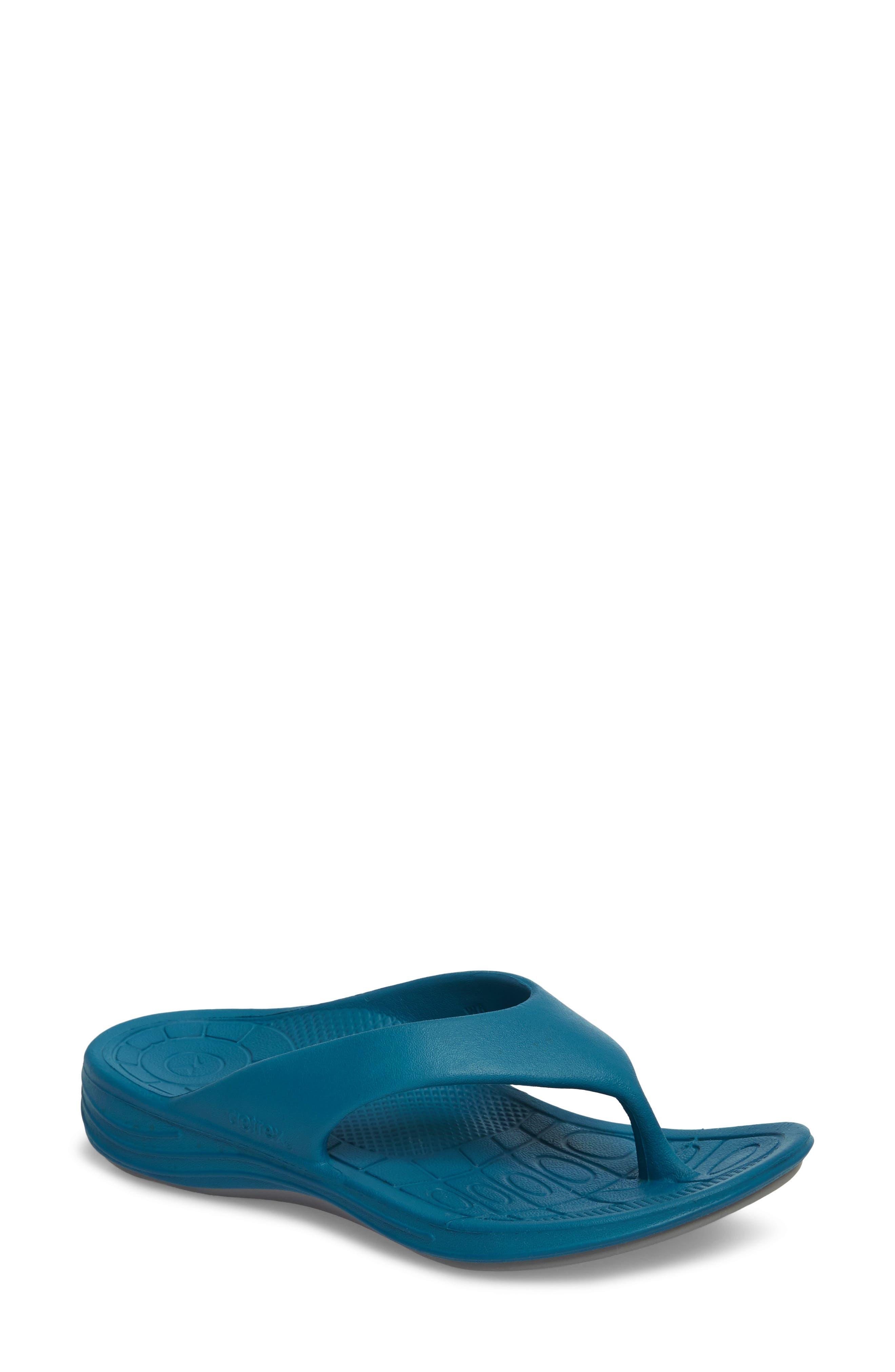 Lynco Flip Flop,                             Main thumbnail 1, color,                             Blue