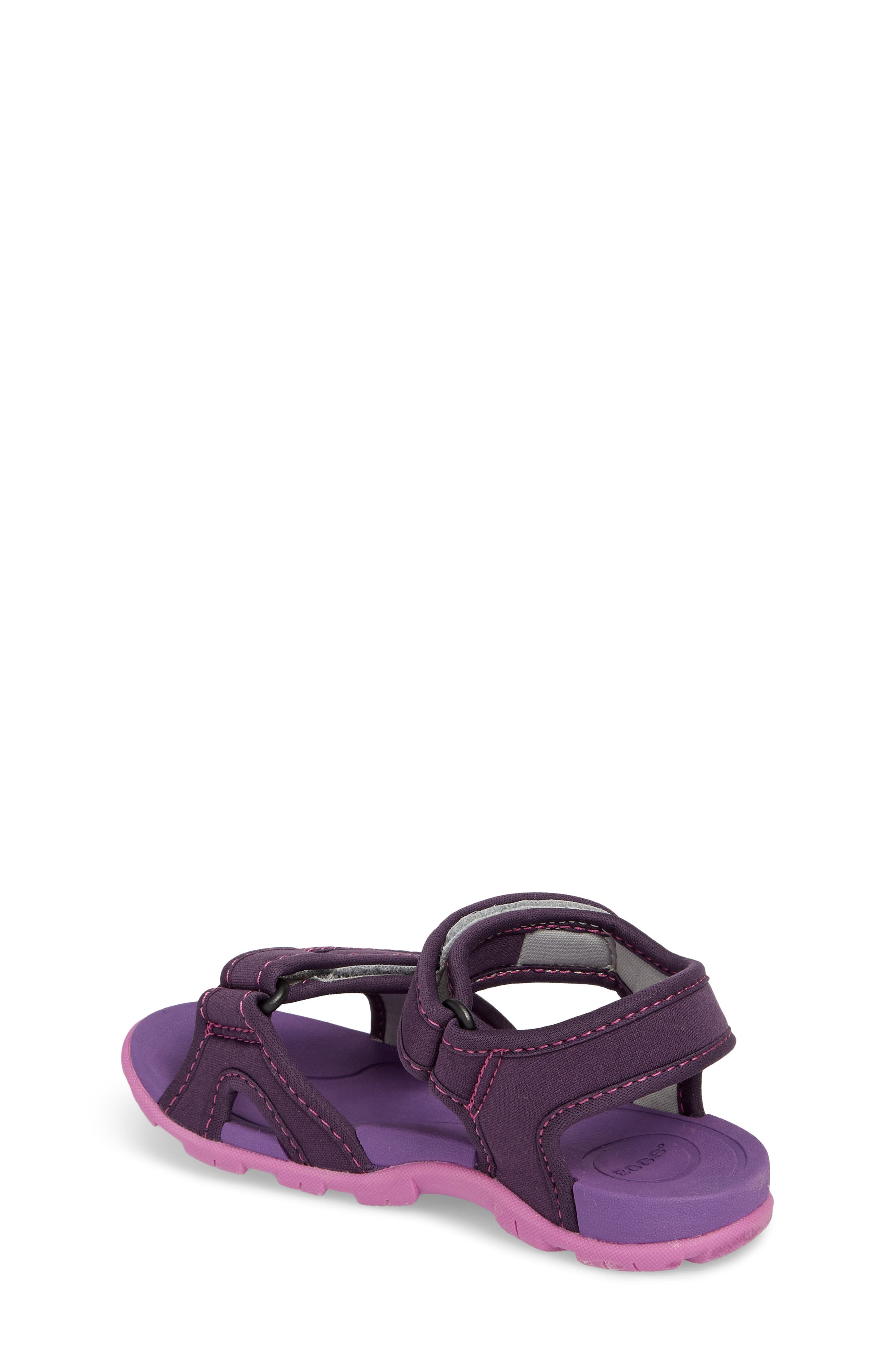 Whitefish Waterproof Sandal,                             Alternate thumbnail 2, color,                             Eggplant Multi